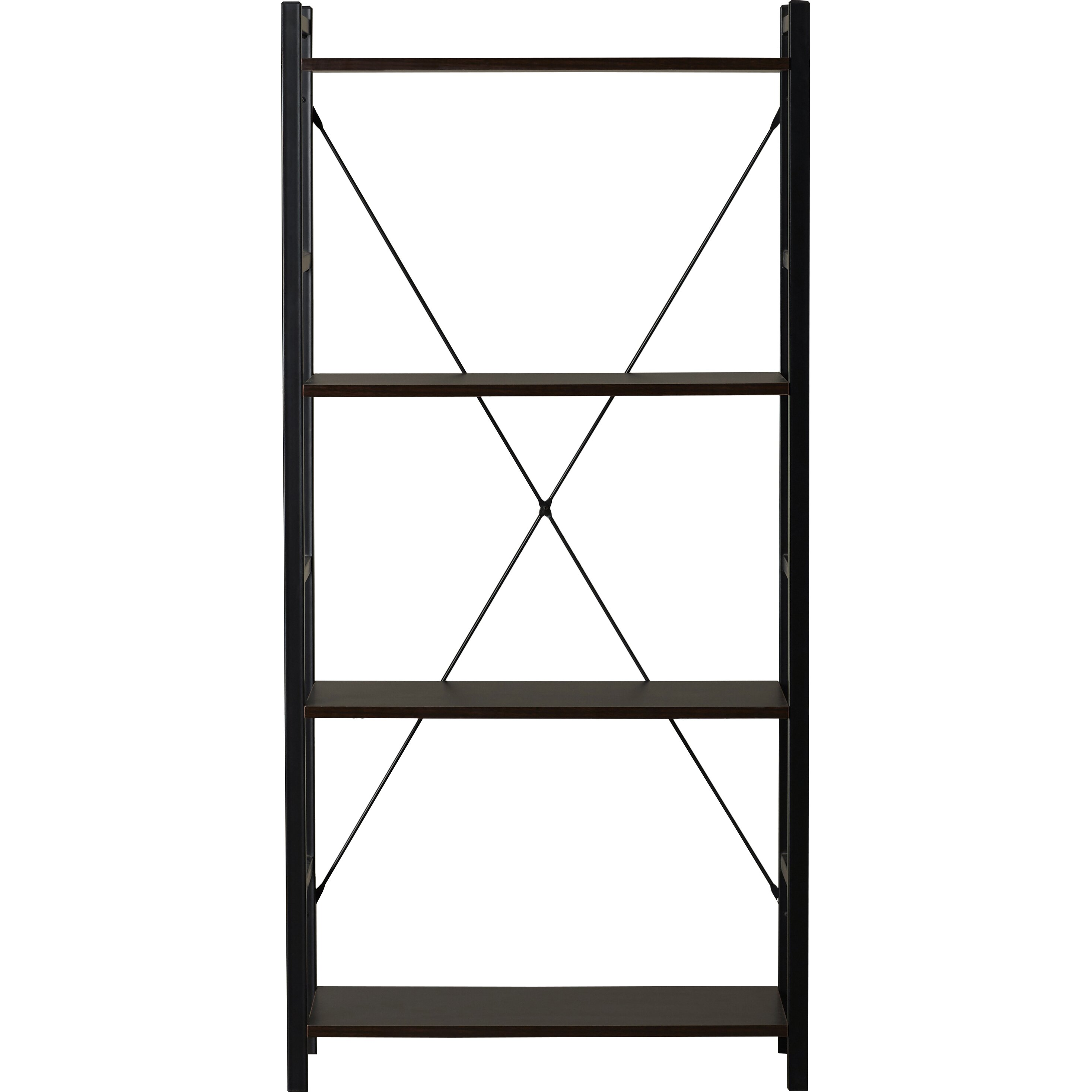 zipcode design 55 etagere bookcase reviews wayfair. Black Bedroom Furniture Sets. Home Design Ideas