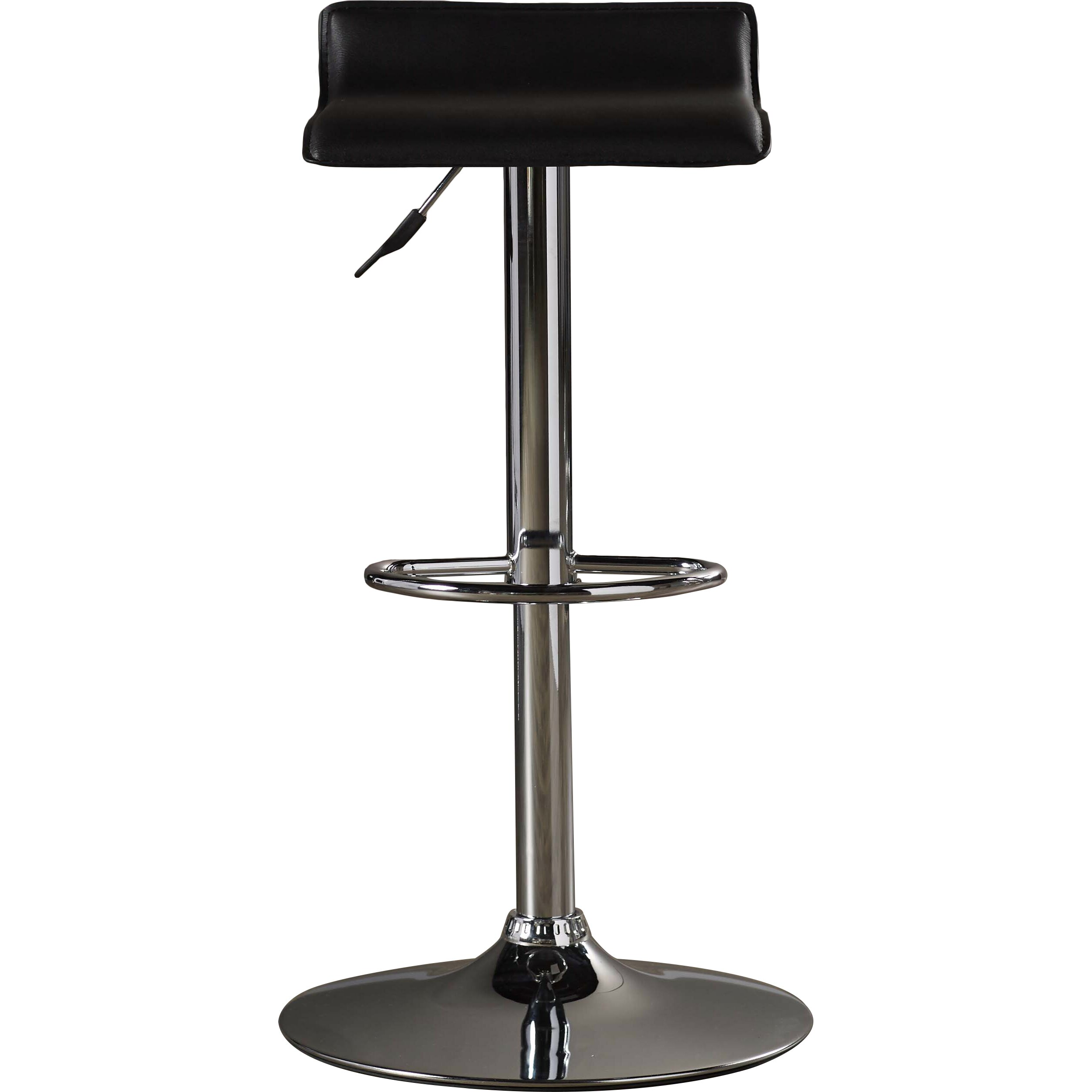 Zipcode design adjustable height swivel bar stool for Counter height swivel bar stools