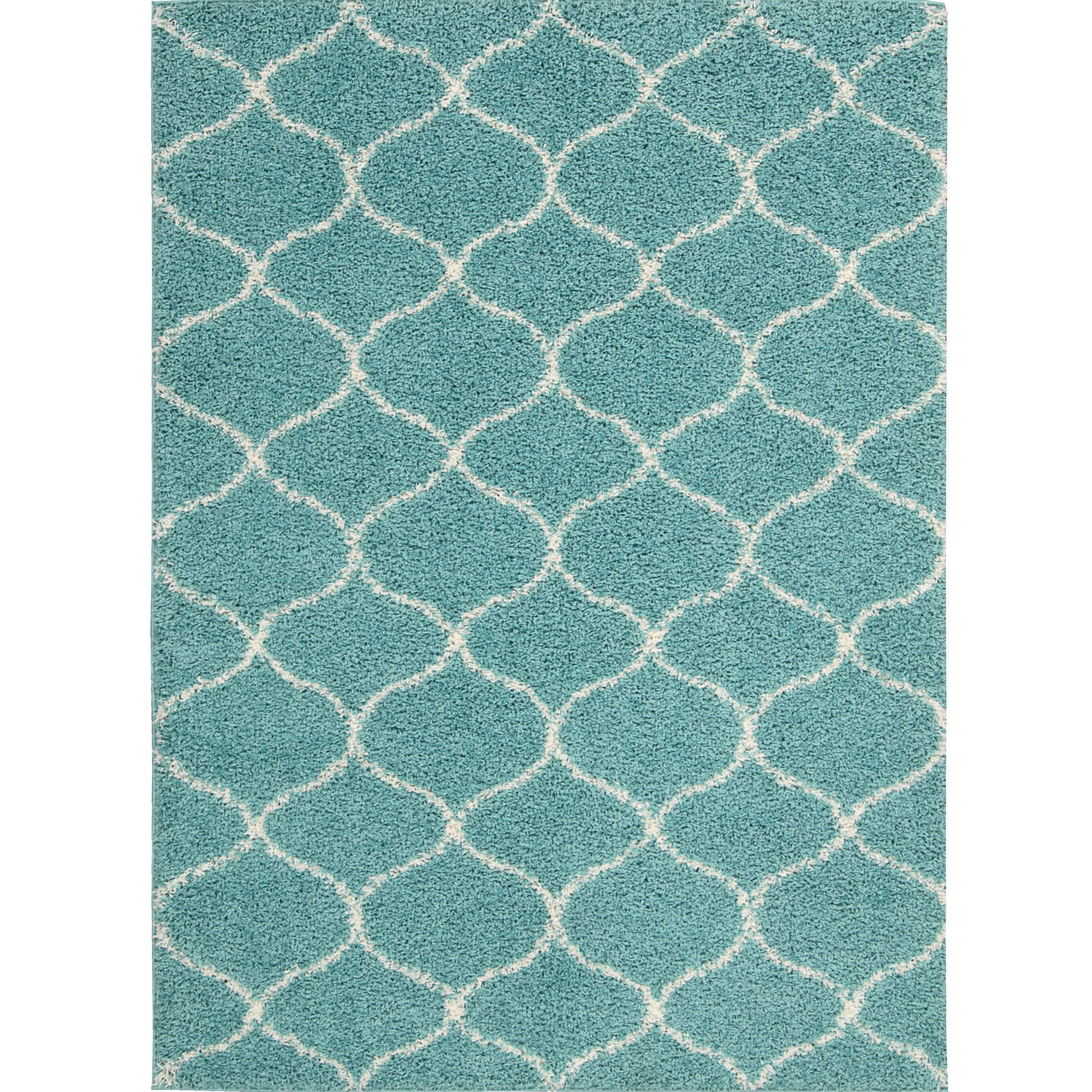 Zipcode™ Design Addison Teal Area Rug & Reviews