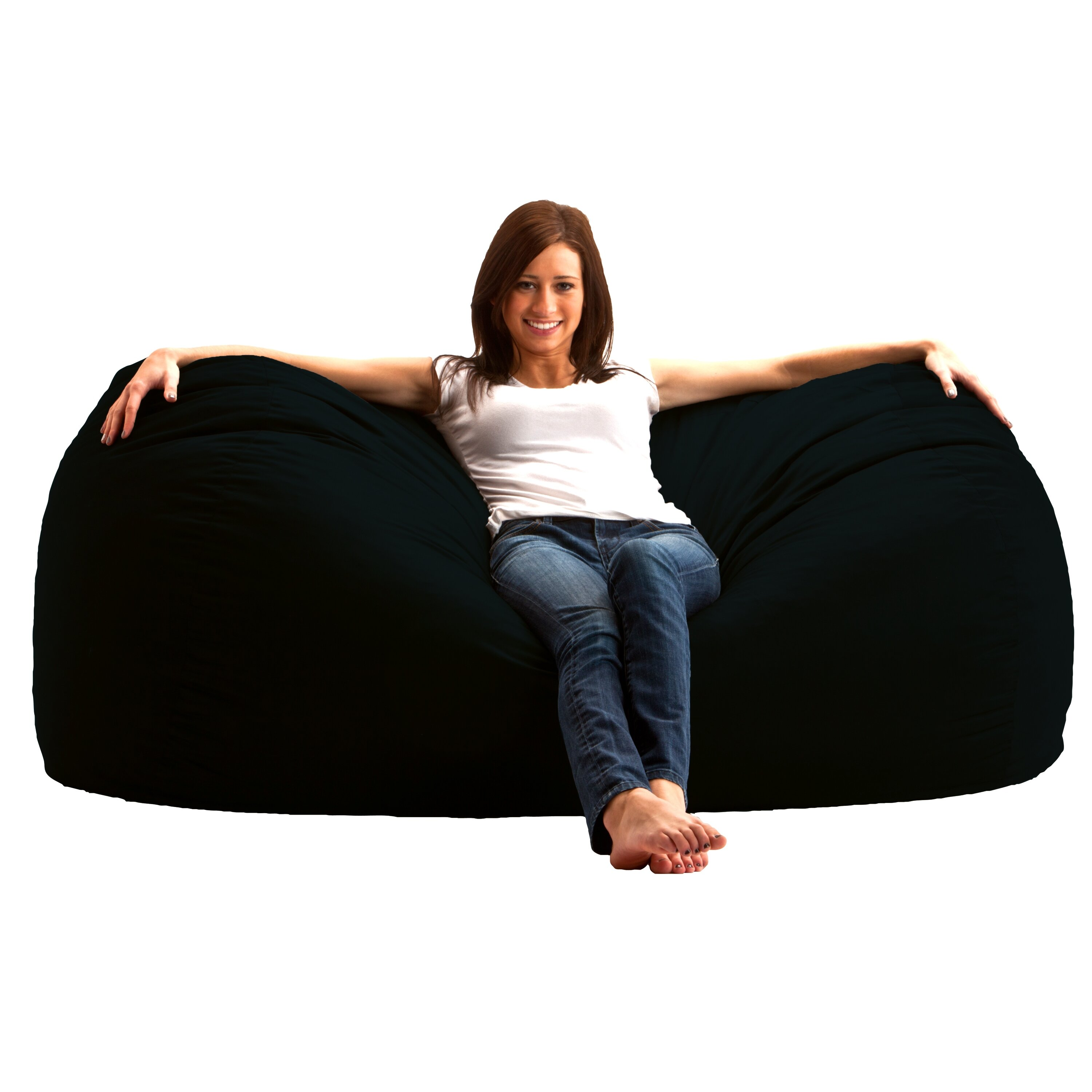 comfort research bean bag sofa reviews. Black Bedroom Furniture Sets. Home Design Ideas