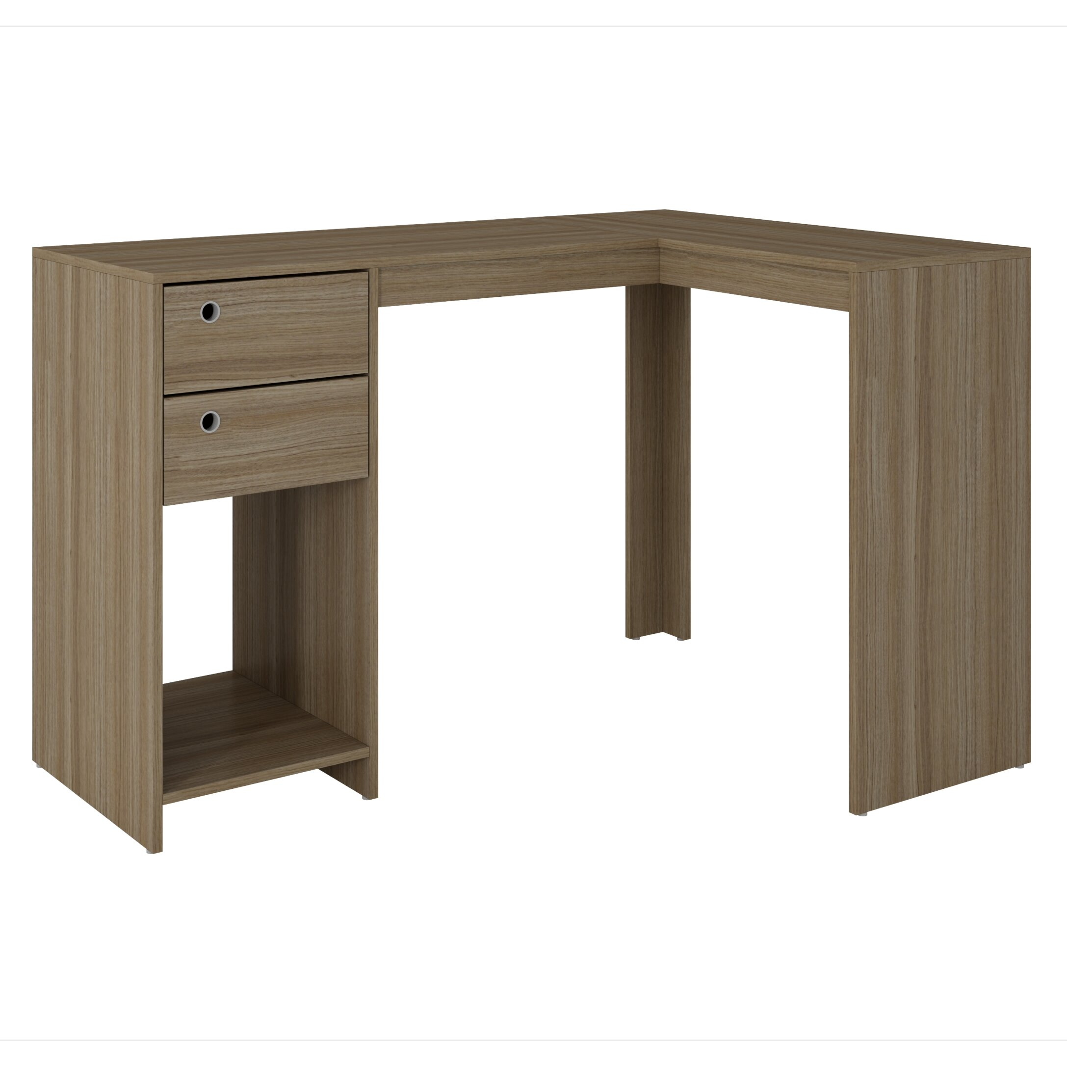 Zipcode Design Erica Classic Quot L Quot Shaped Desk With 2
