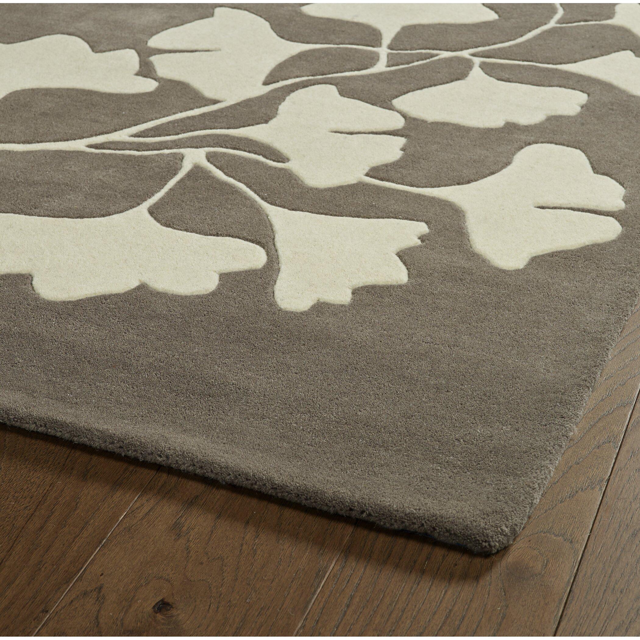 Zipcode™ Design Frances Hand-Tufted Grey / Ivory Area Rug