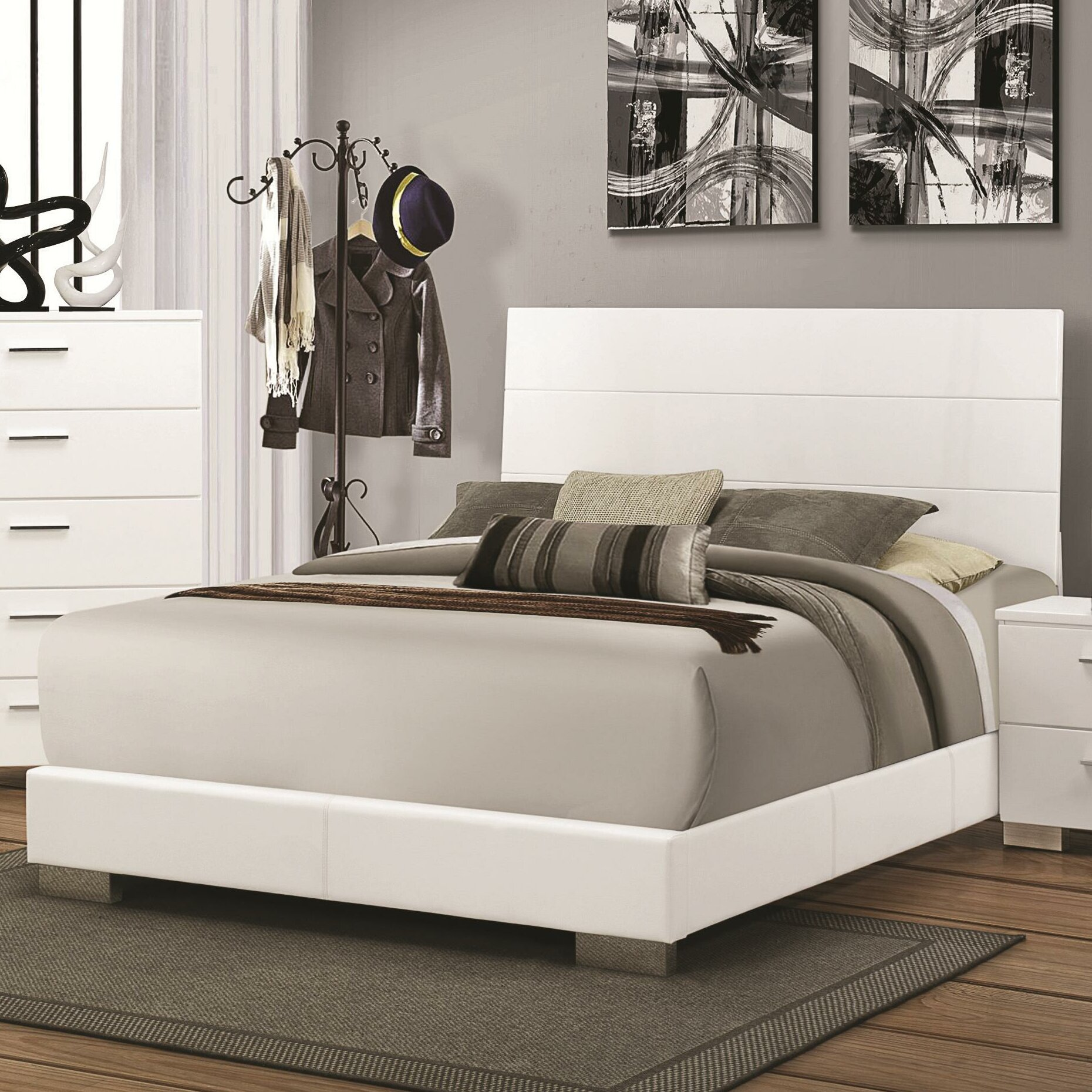 Wildon Home Panel Bed Reviews Wayfair