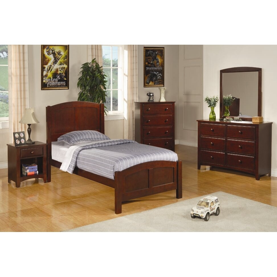 Wildon Home Perry Twin Panel Customizable Bedroom Set Reviews Wayfair