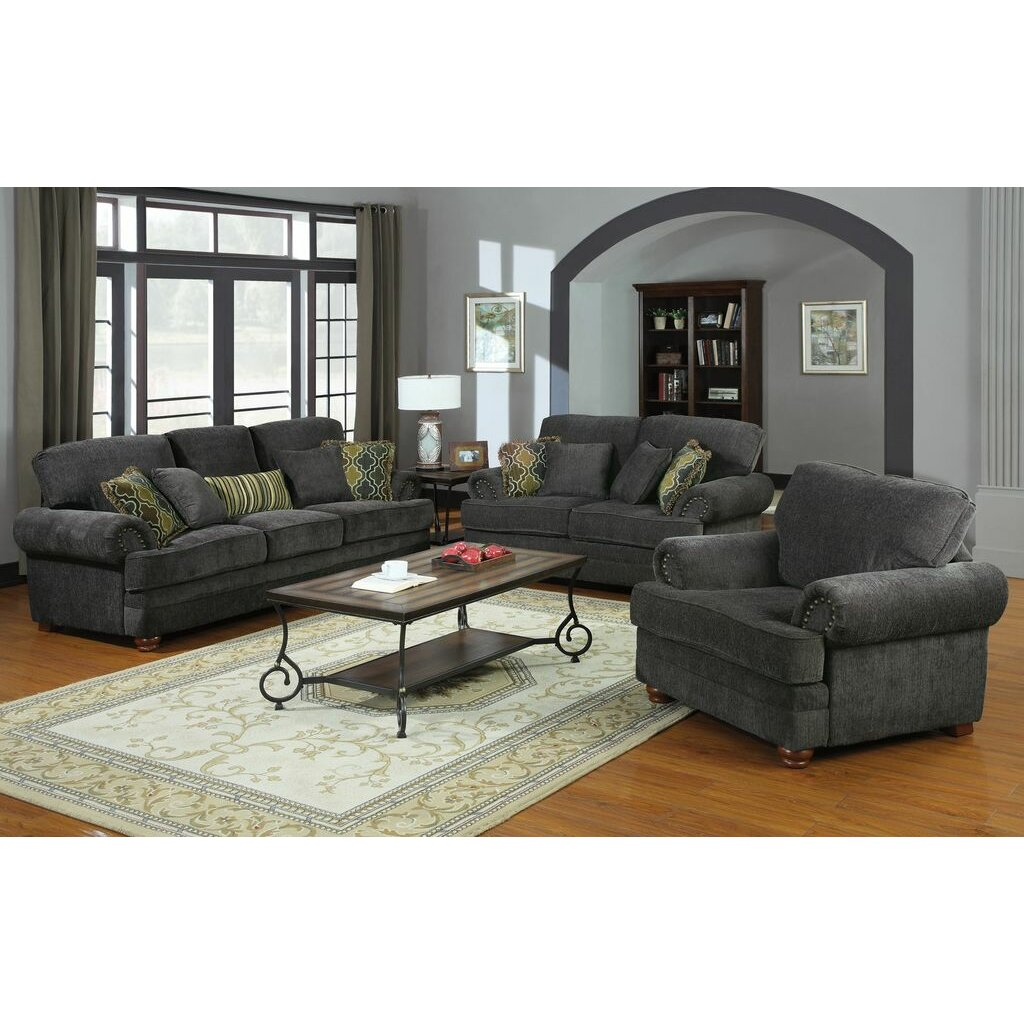 Wildon Home Crawford Chenille Living Room Collection