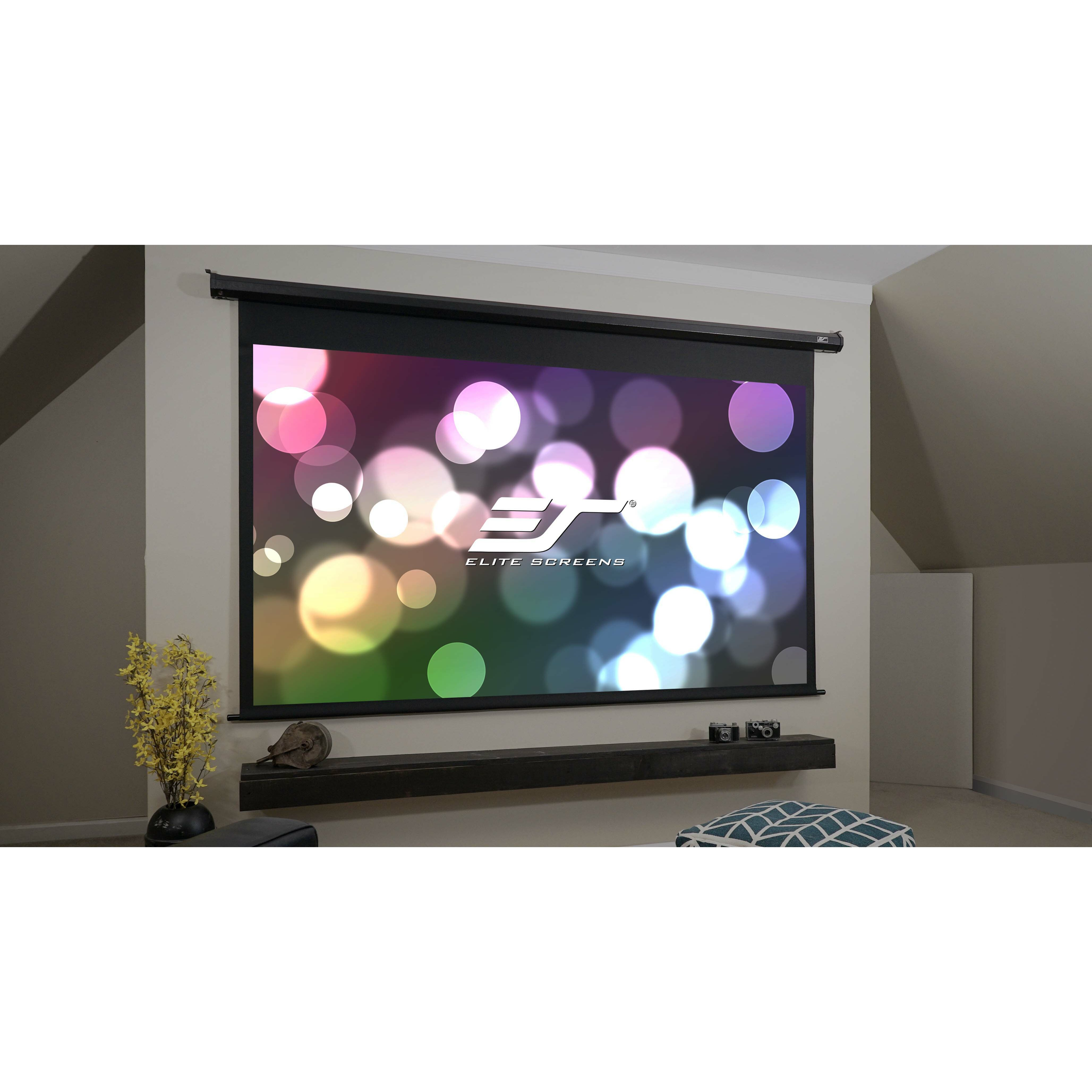 Elite screens spectrum series maxwhite electric for Elite motorized projector screen