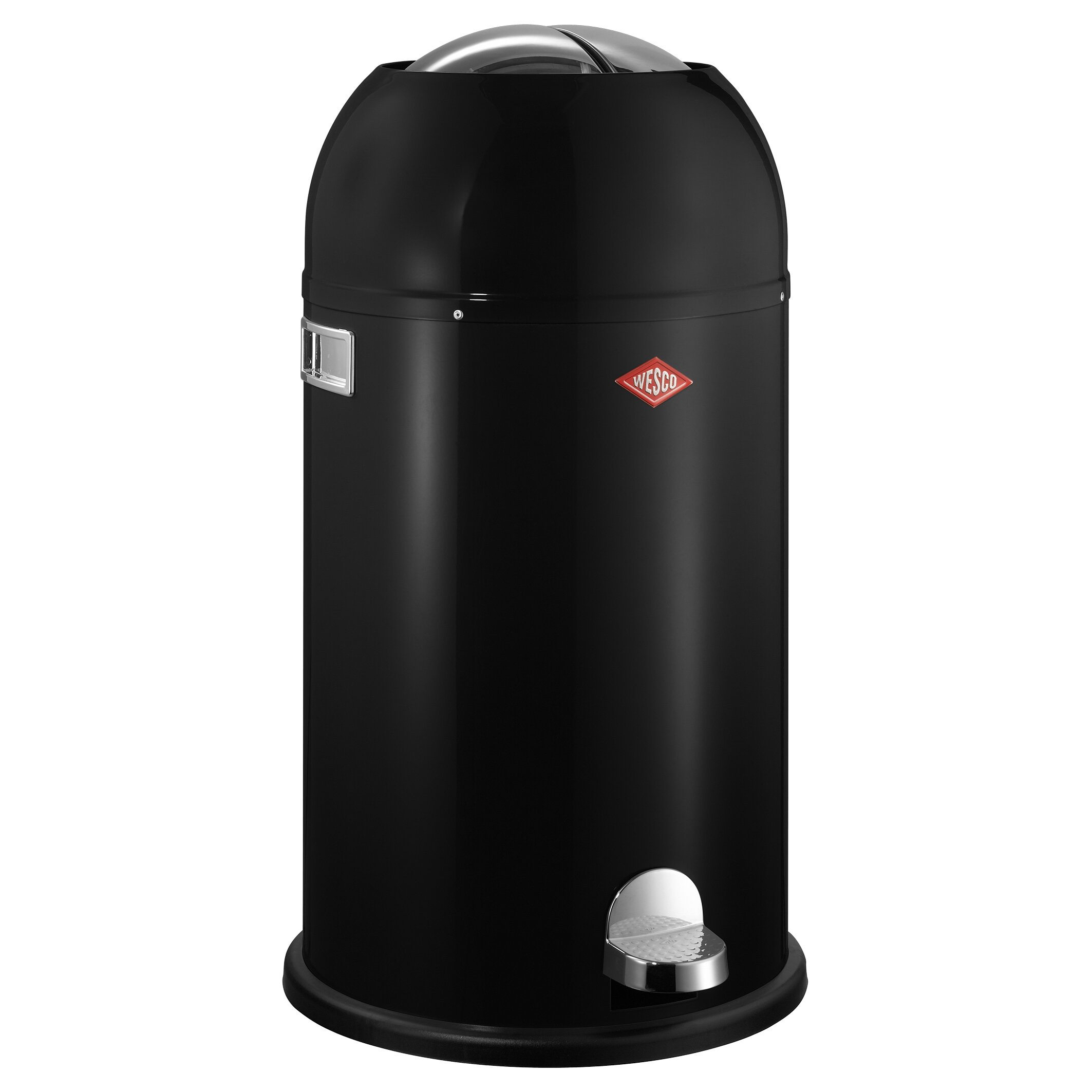 wesco kickmaster 7 5 gallon step on steel trash can reviews. Black Bedroom Furniture Sets. Home Design Ideas
