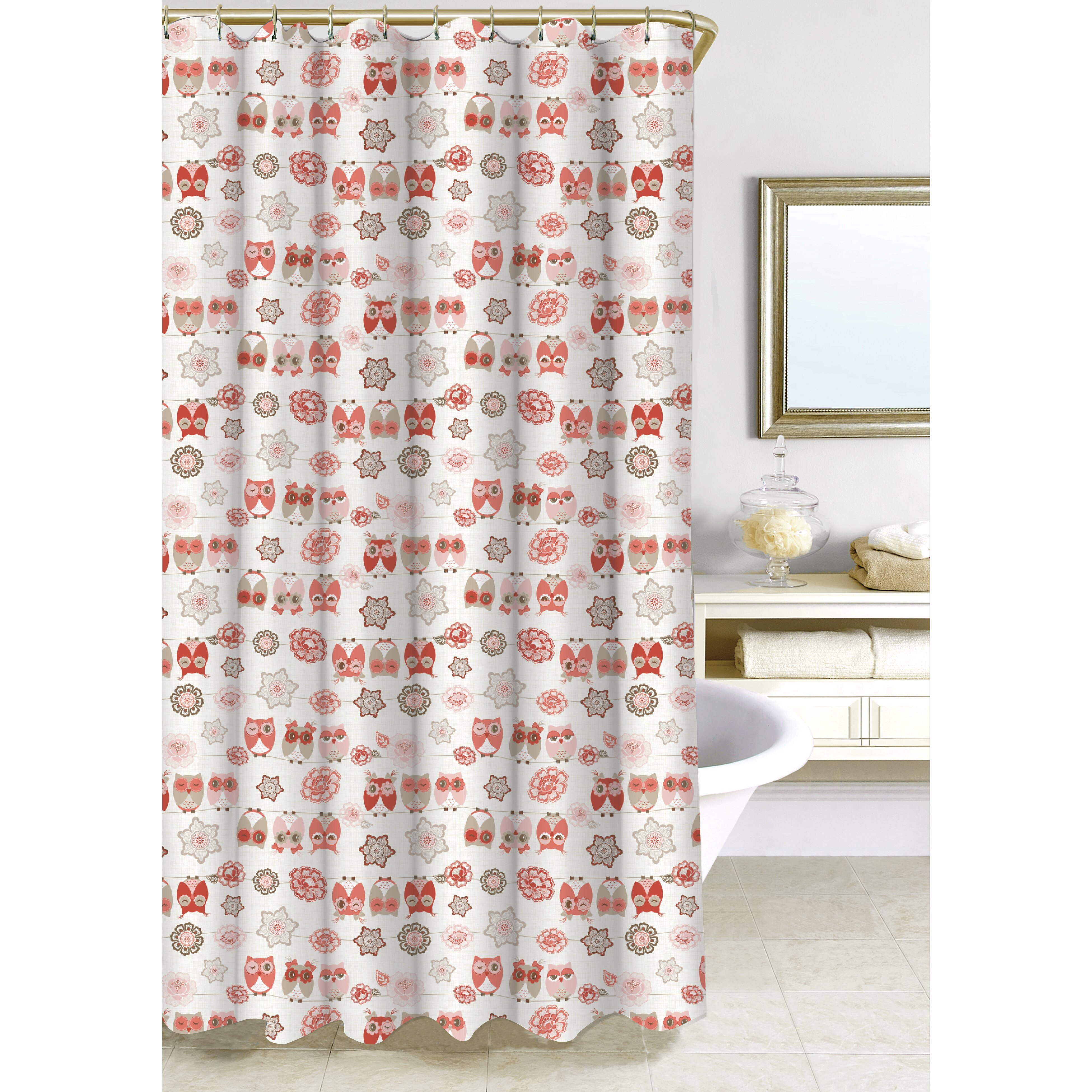 Homewear Linens Owl Ya Doin Shower Curtain Wayfair