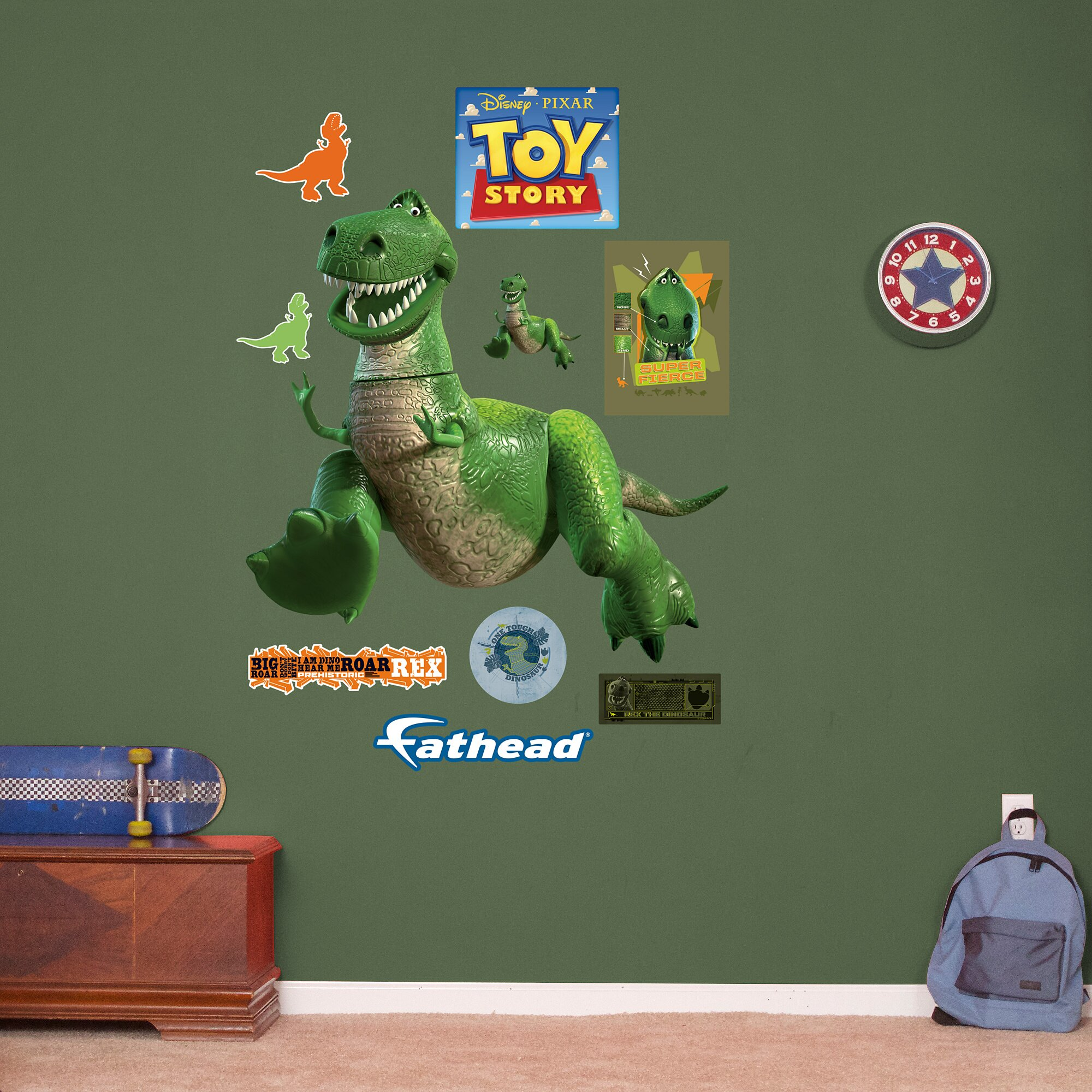Fathead Kids Toy Story Decal