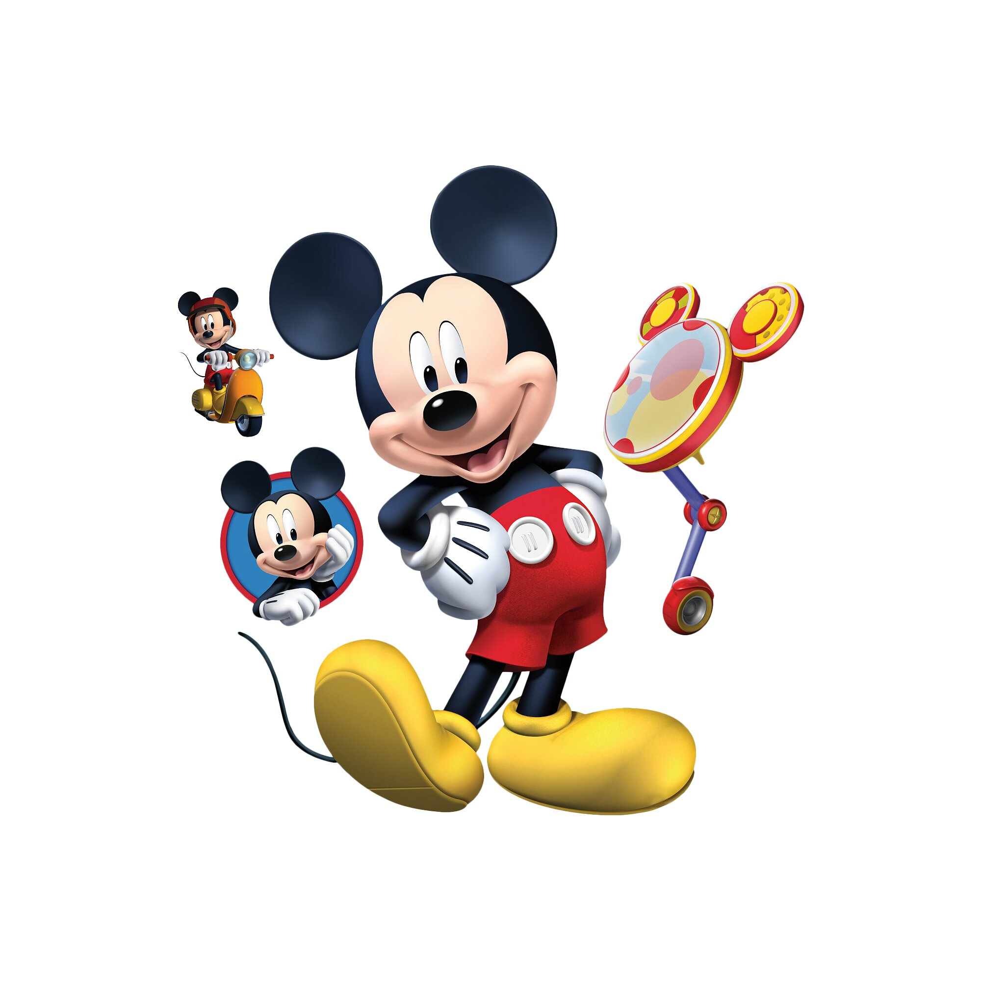 Disney Mickey Mouse Clubhouse Room Decor