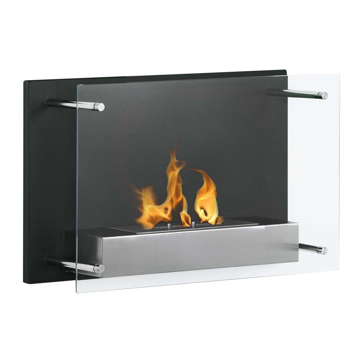 moda flame pro epila wall mount ethanol fireplace