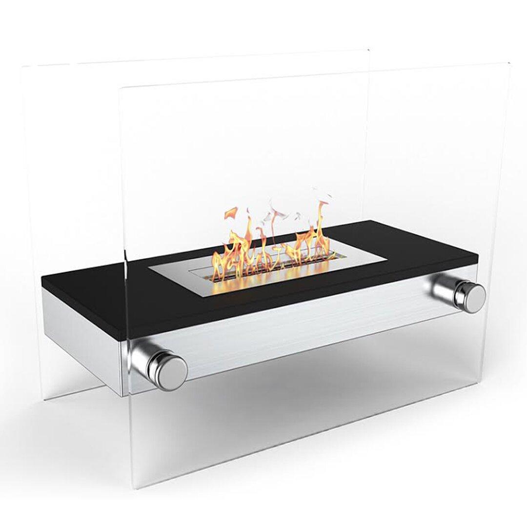 Moda flame palermo bio ethanol tabletop fireplace wayfair for Bio ethanol fire pit