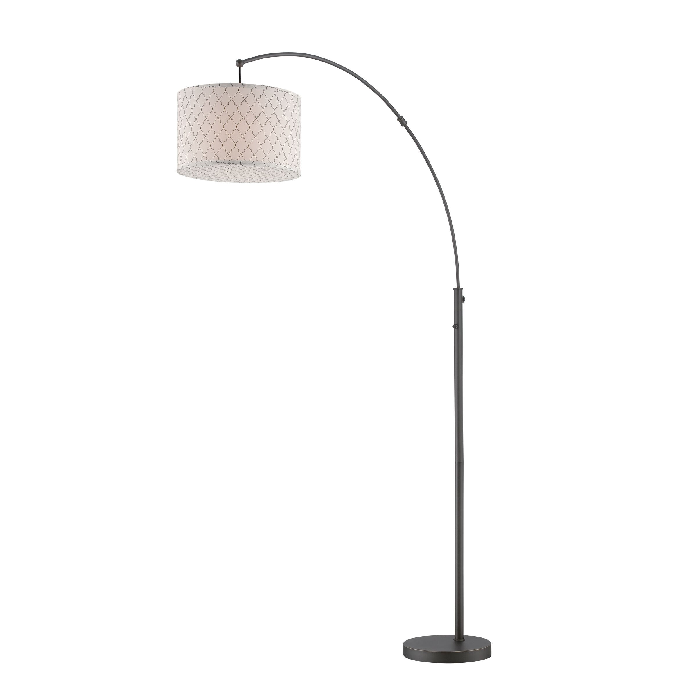 Lite source vasanti 77 5 arched floor lamp reviews for Arch floor lamps for living room