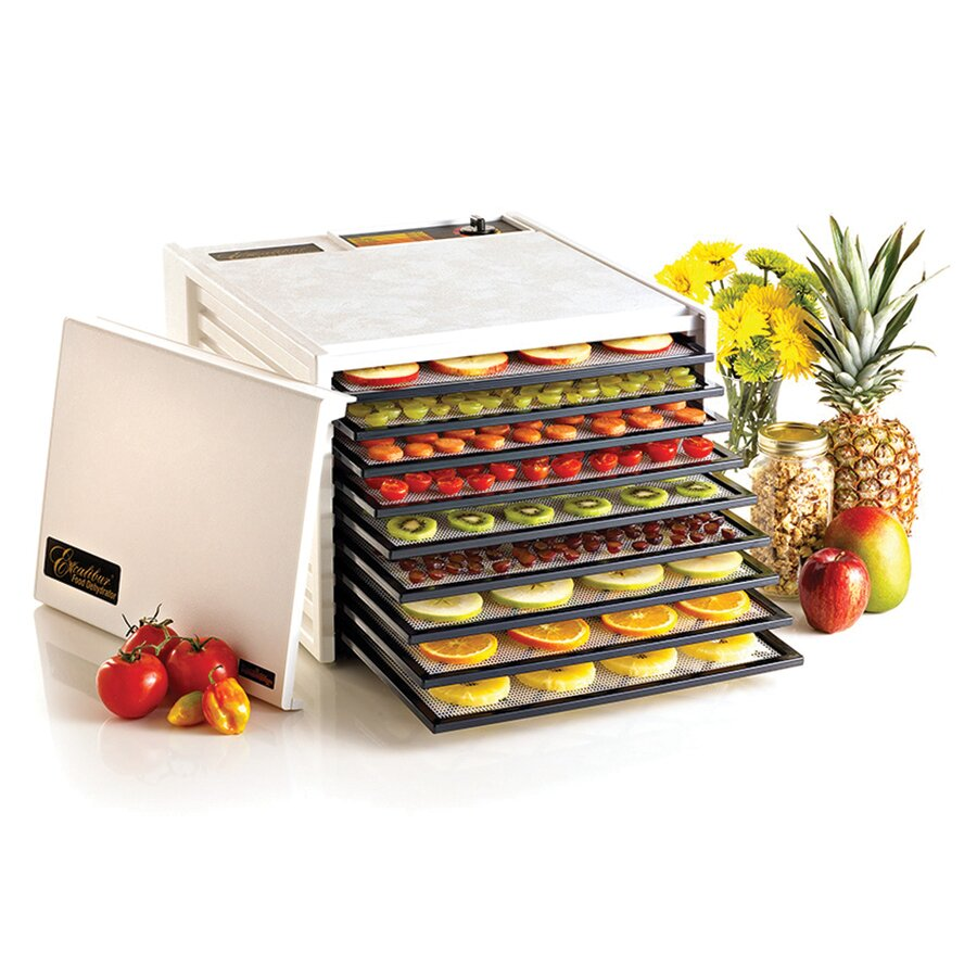 excalibur 9 tray dehydrator without timer wayfair. Black Bedroom Furniture Sets. Home Design Ideas