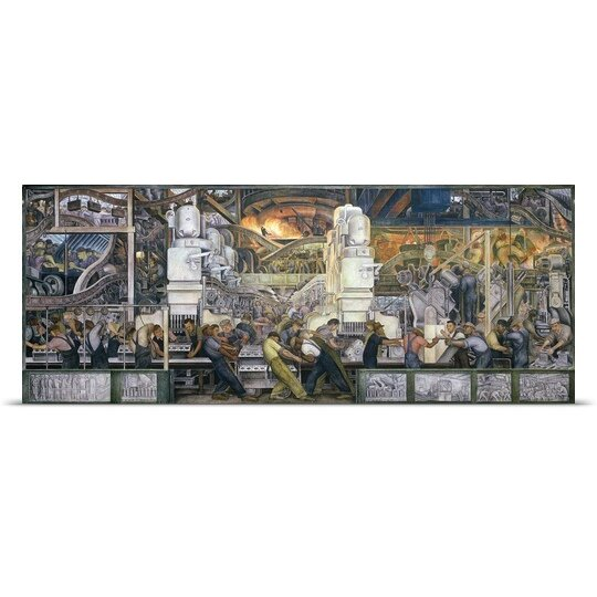 Great Big Canvas 39 Detroit Industry North Wall 1932 33