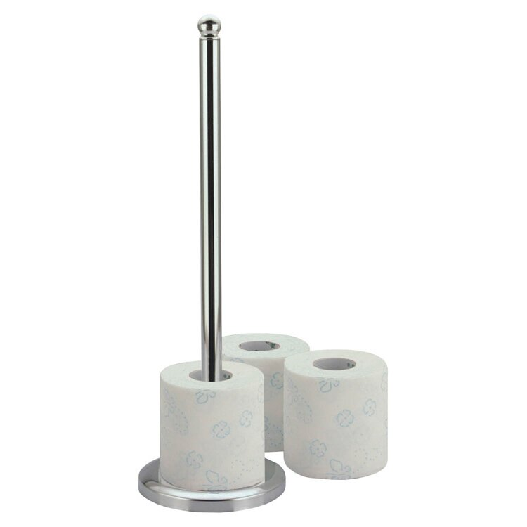 Zodiac Stainless Products Freestanding Toilet Roll Holder