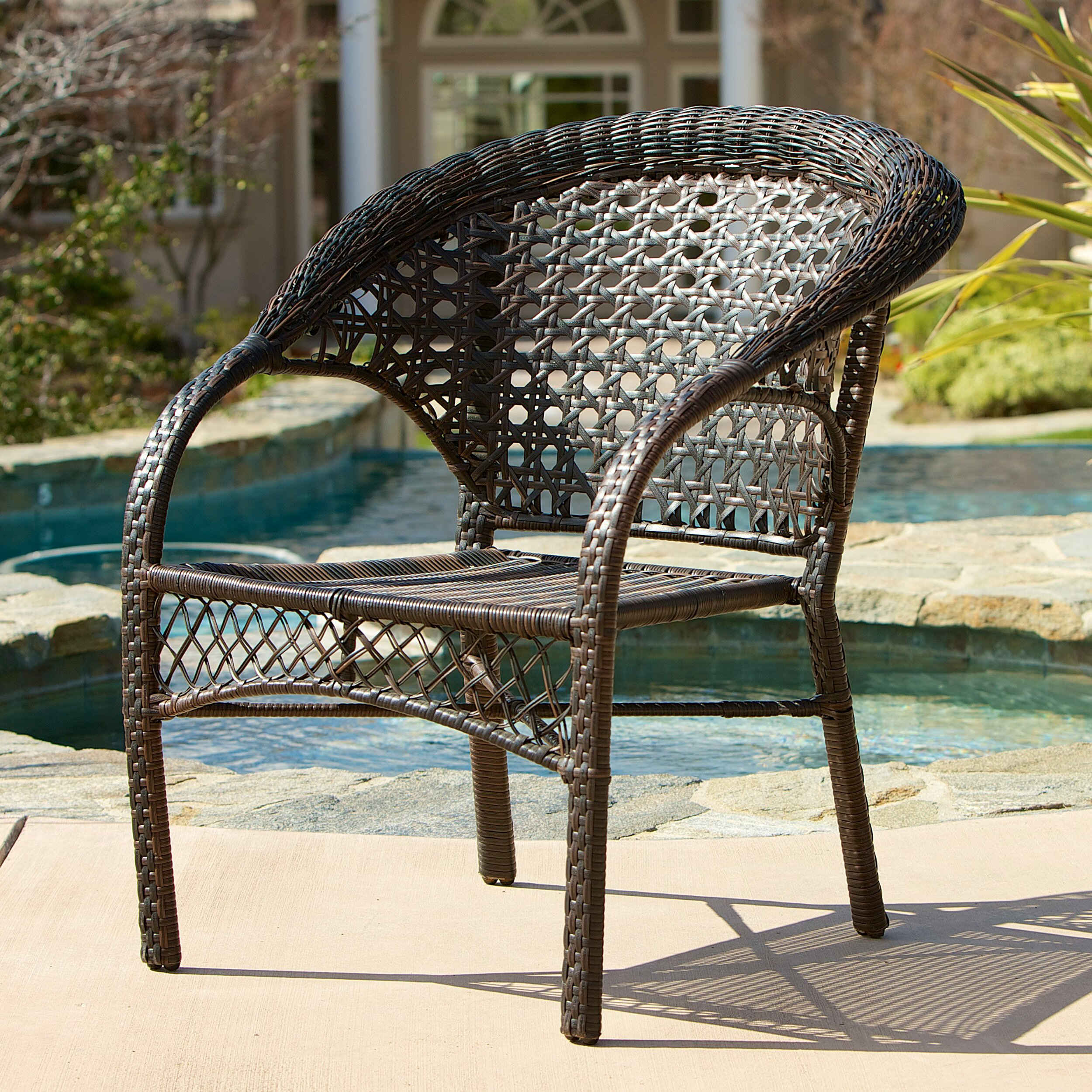 Home Loft Concepts Darlington Outdoor Wicker Chairs ...