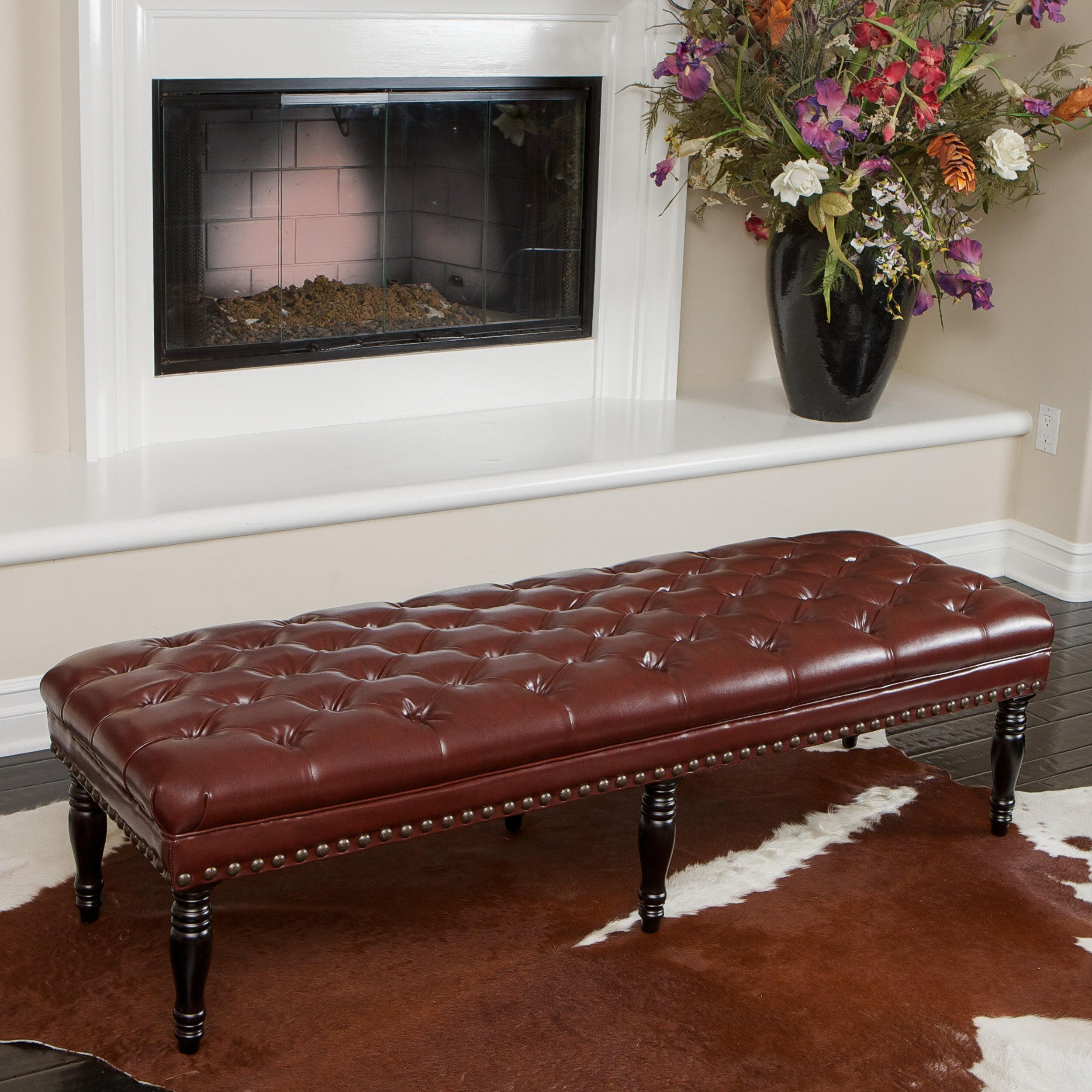 Home Loft Concepts Apier Tufted Bench Reviews Wayfair