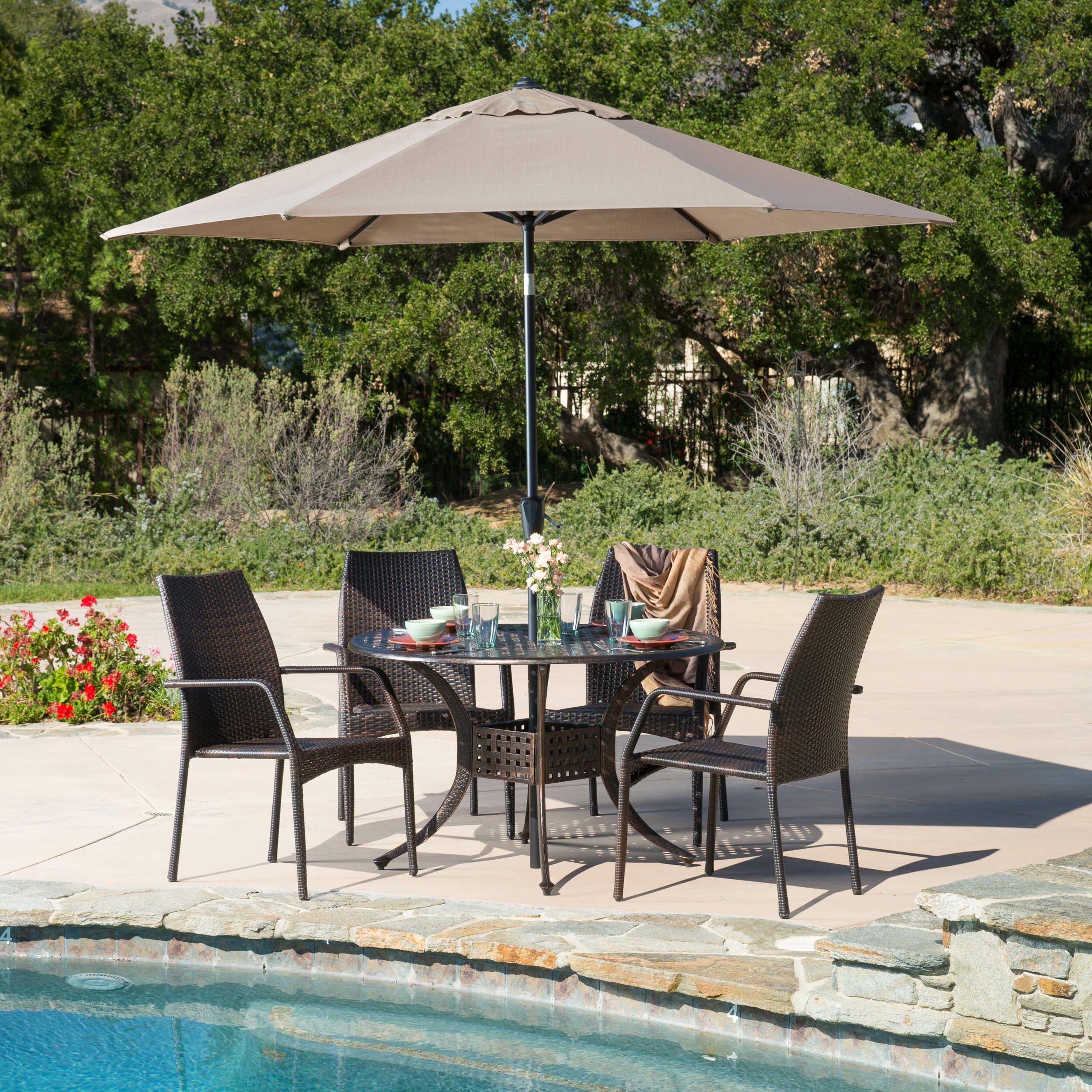 Home Loft Concepts Cherish 5 Piece Dining Set Reviews