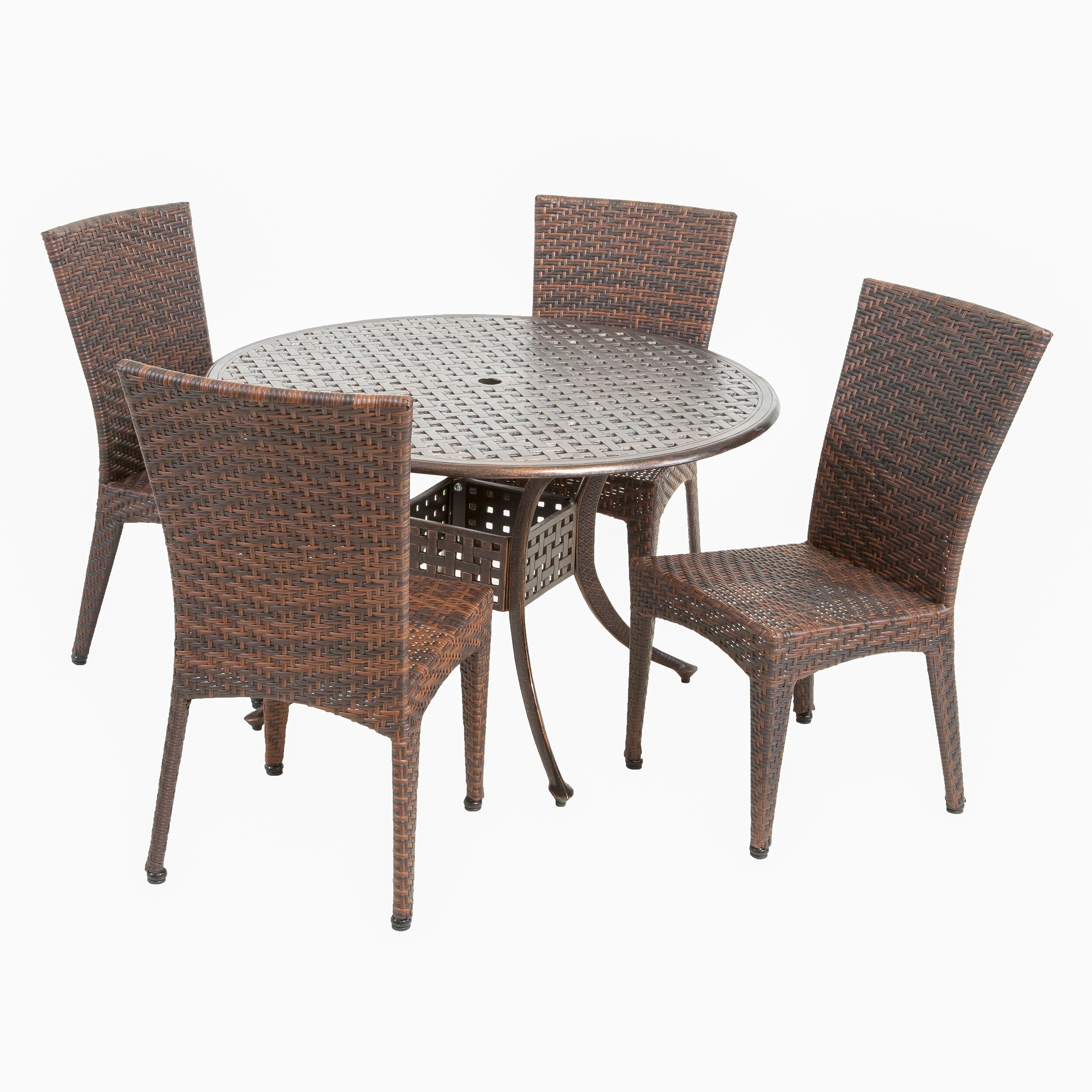Home loft concepts hailey 5 piece dining set reviews for 5 piece dining set