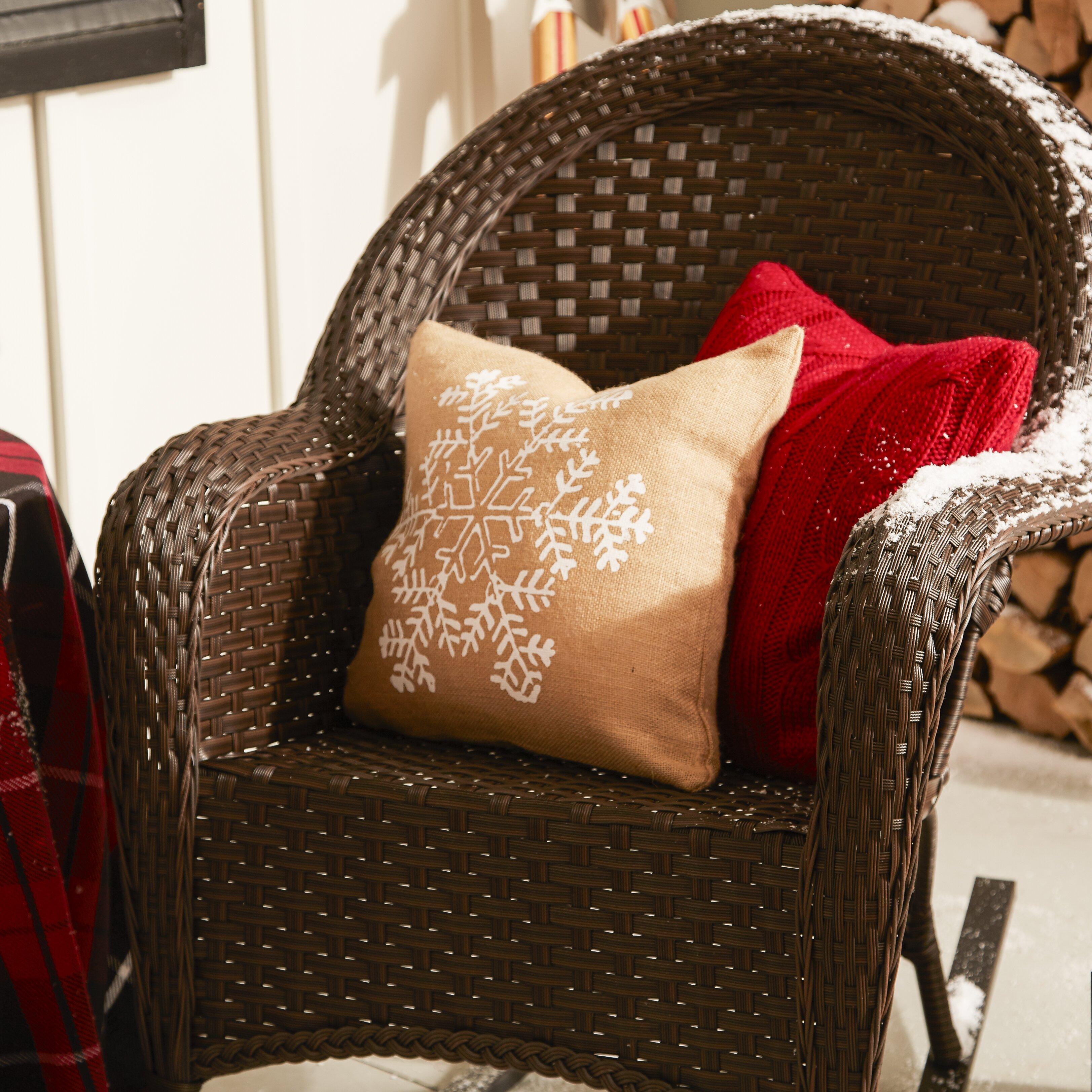Home Loft Concepts Tunisia Wicker Rocker & Reviews  Wayfair
