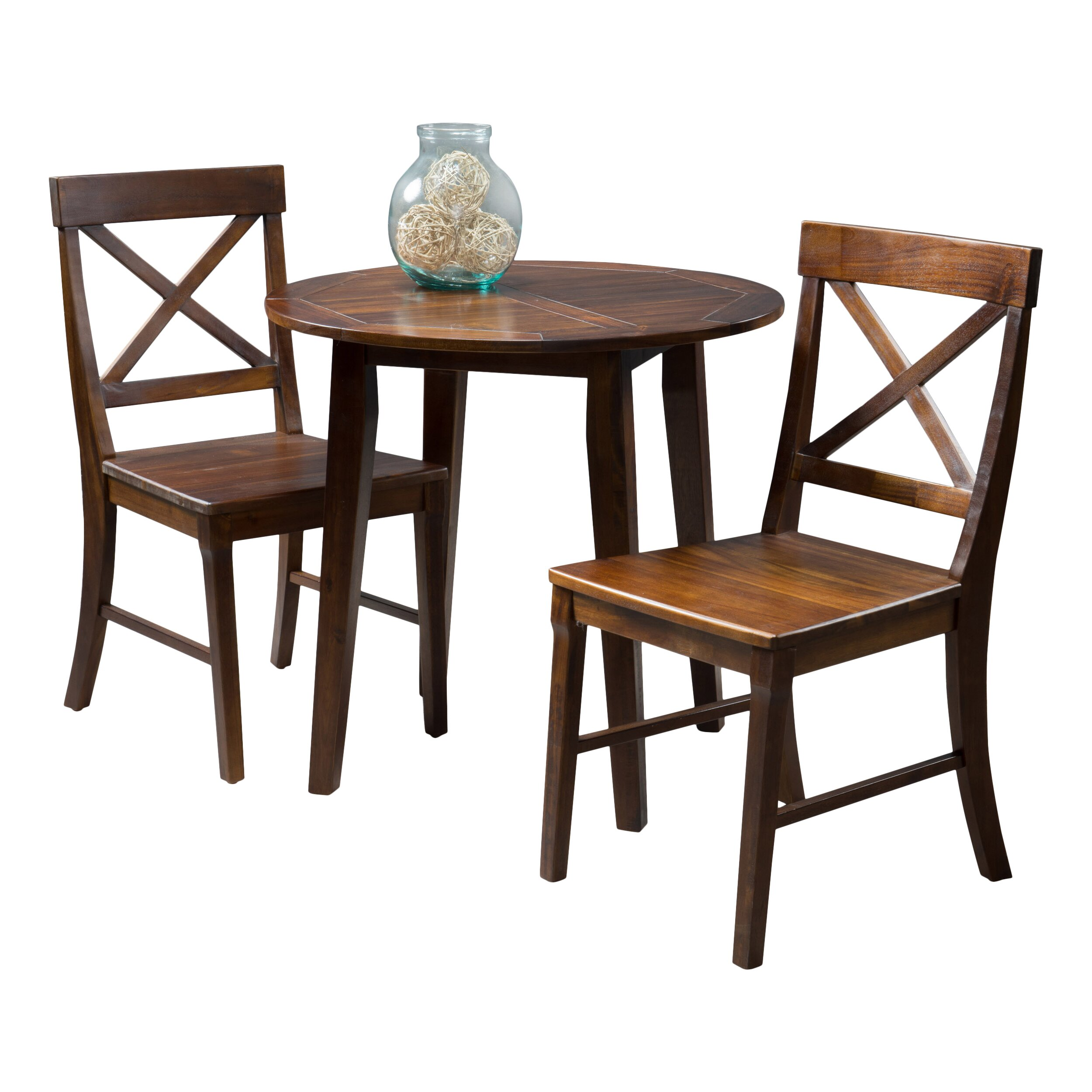 Home Loft Concepts Derek 3 Piece Dining Set & Reviews