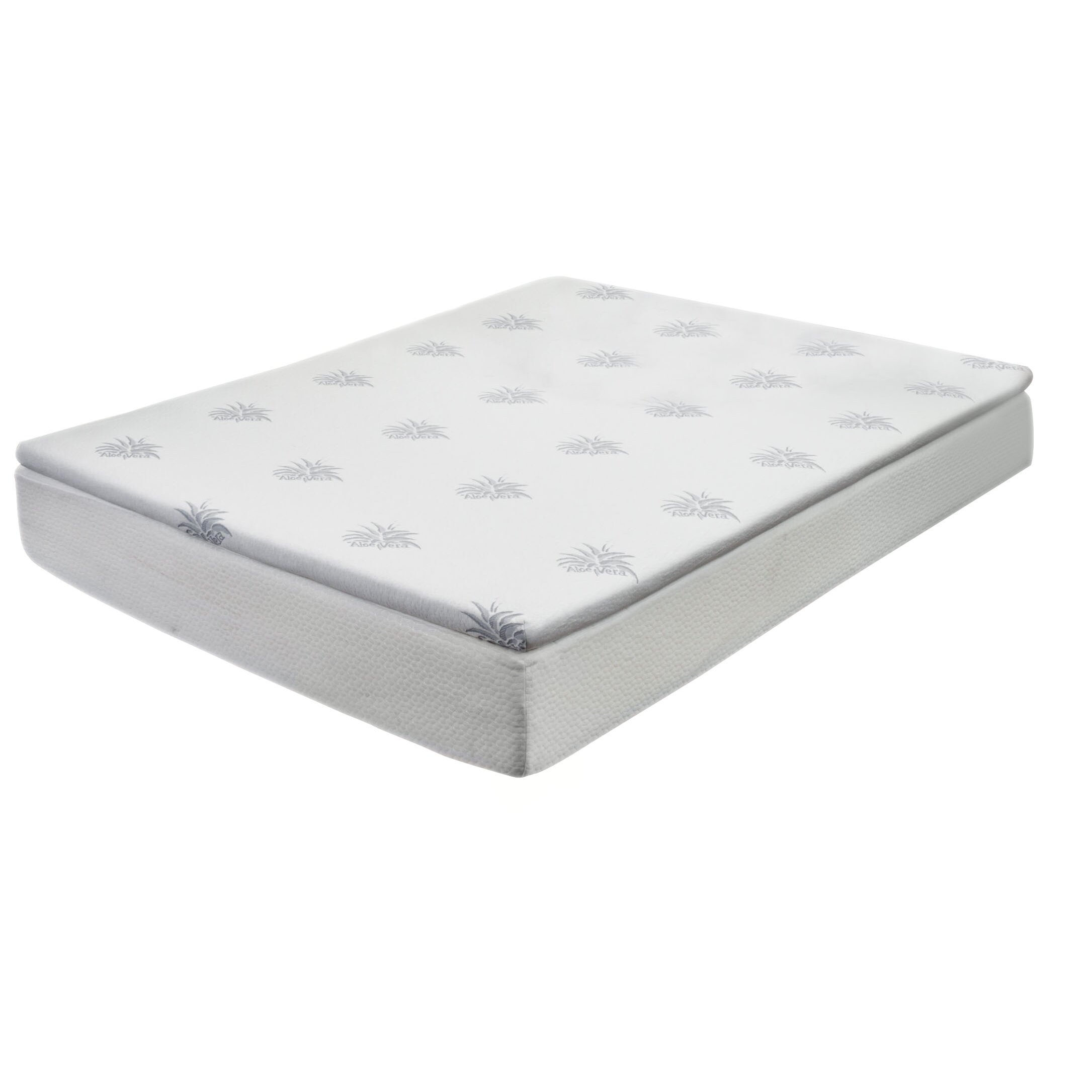Home Loft Concepts Gel Memory Foam Mattress Topper