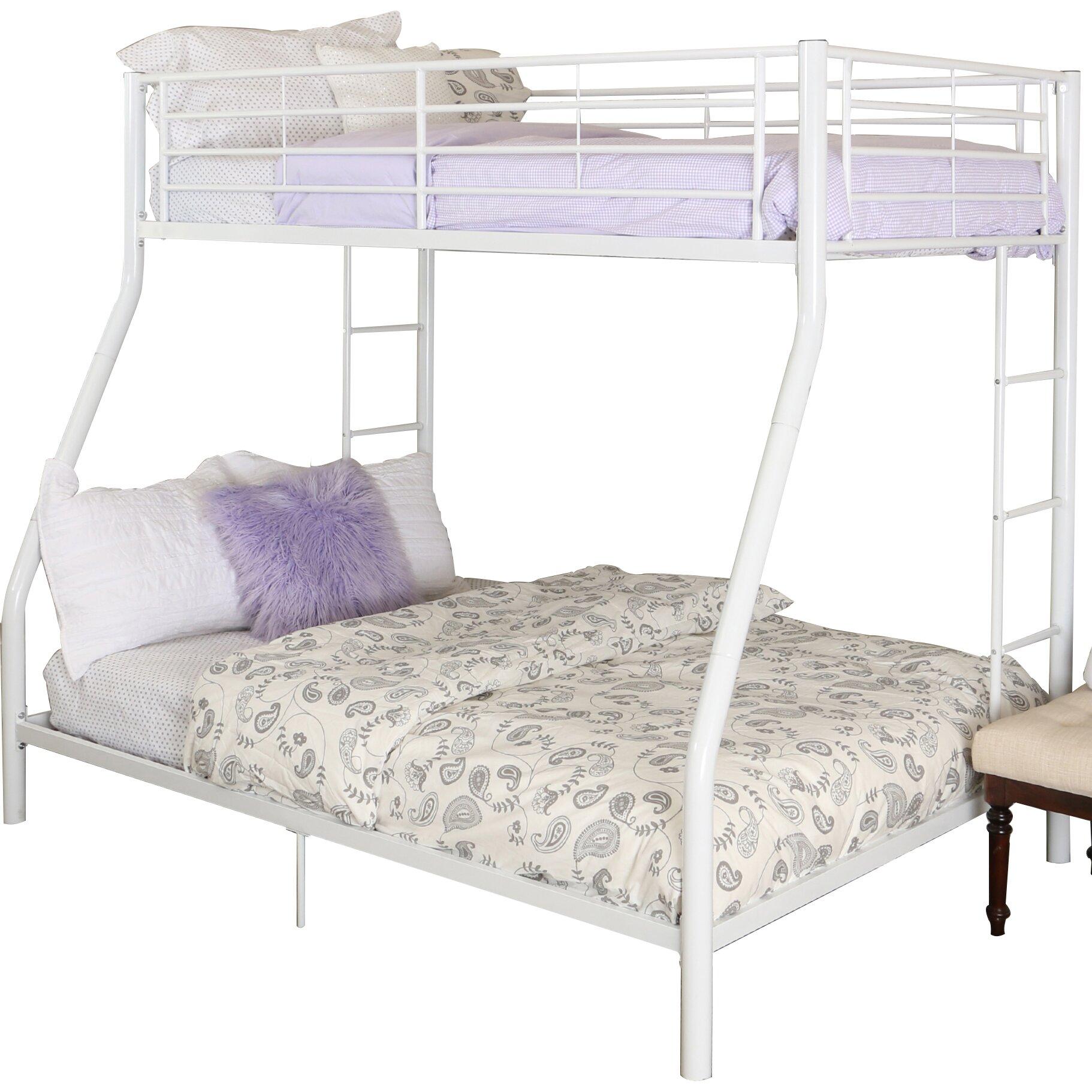 Home loft concepts sunrise twin over full bunk bed for Home loft concept bunk bed