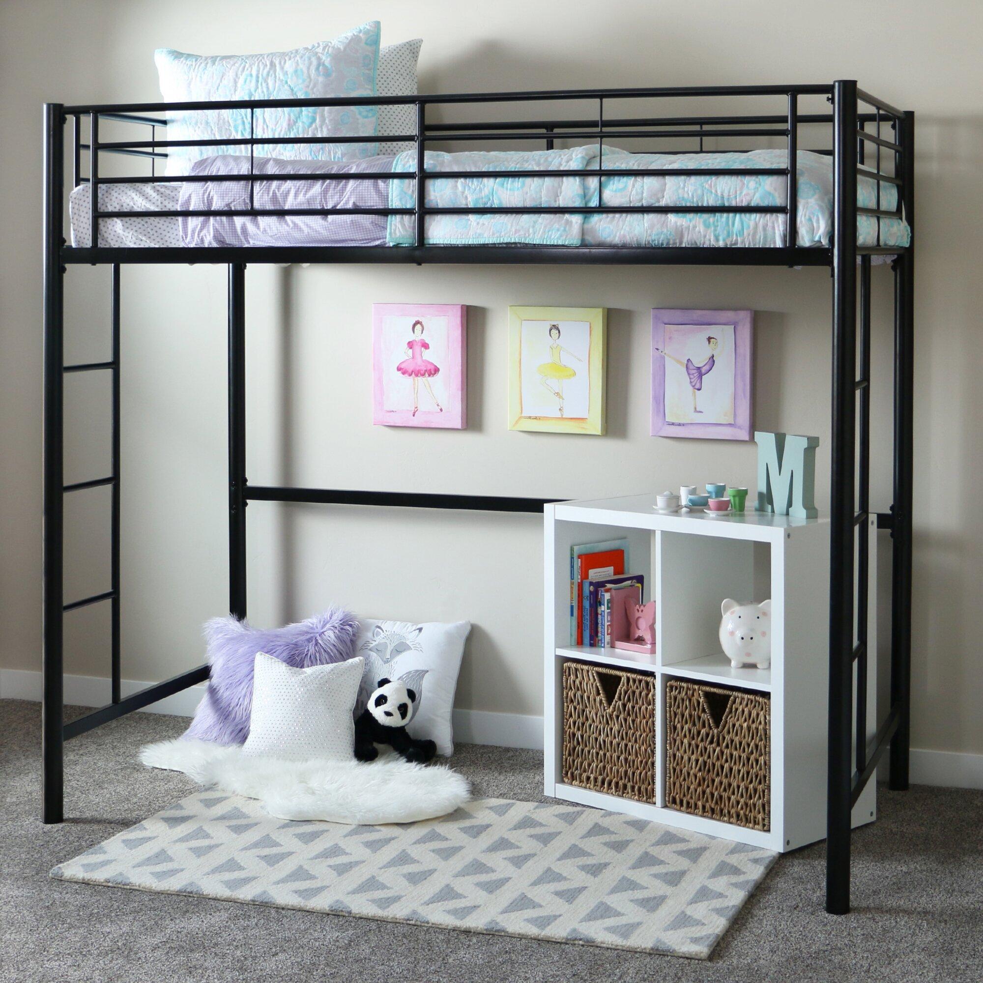 home loft concepts twin loft bed customizable bedroom set
