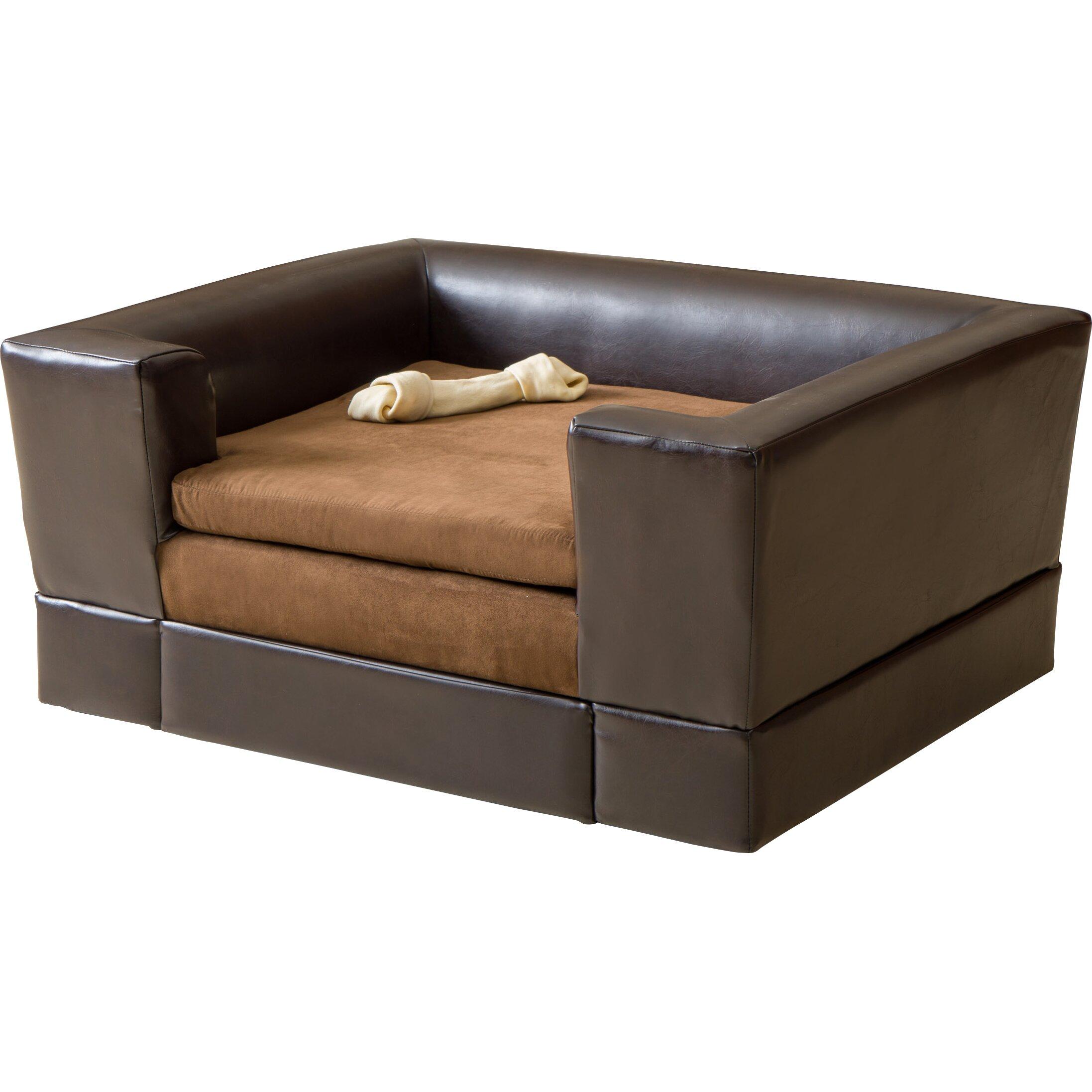 Home Loft Concepts Dofferville Rectangle Cushy Dog Sofa
