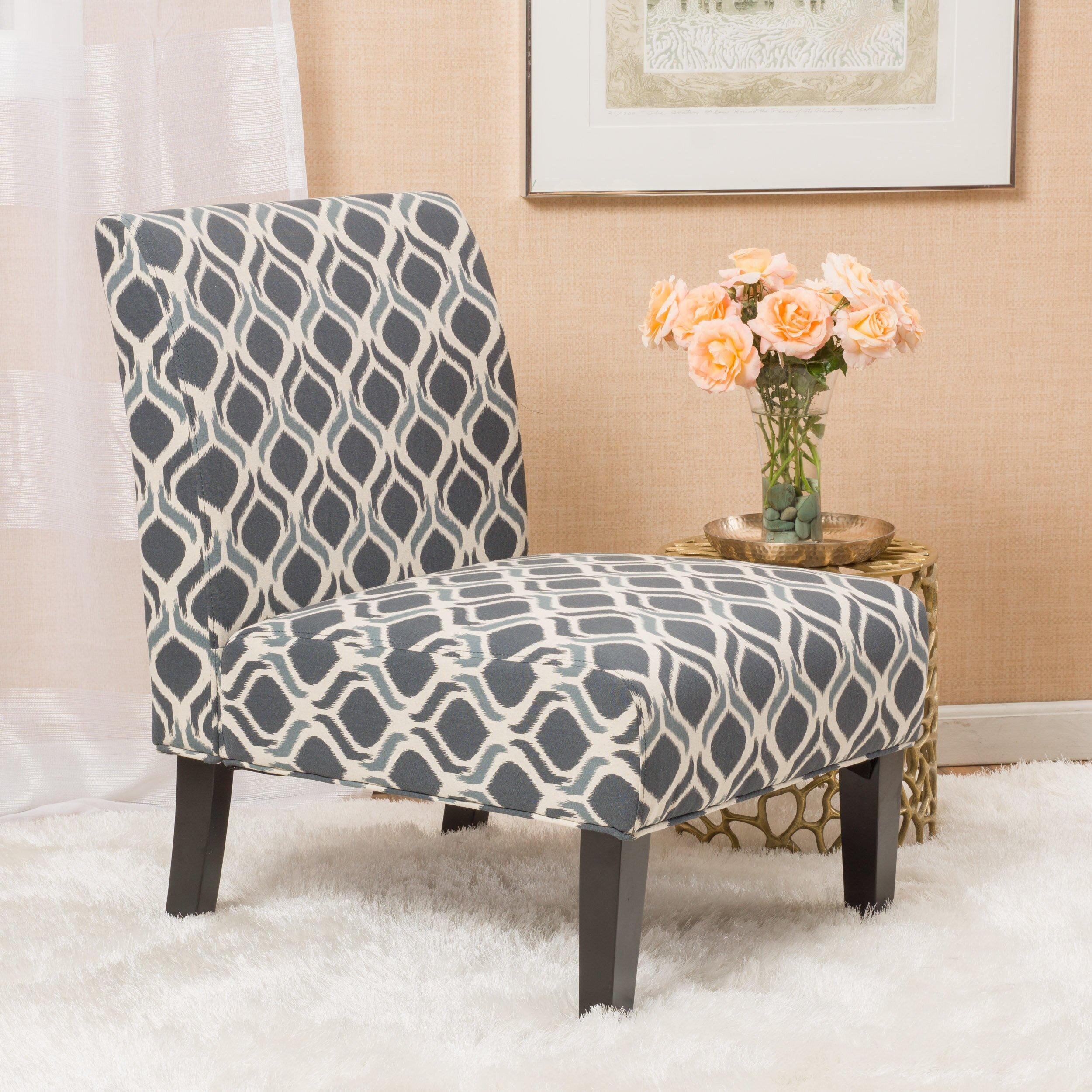 Home Loft Concepts Daniella Fabric Slipper Chair Reviews Wayfair