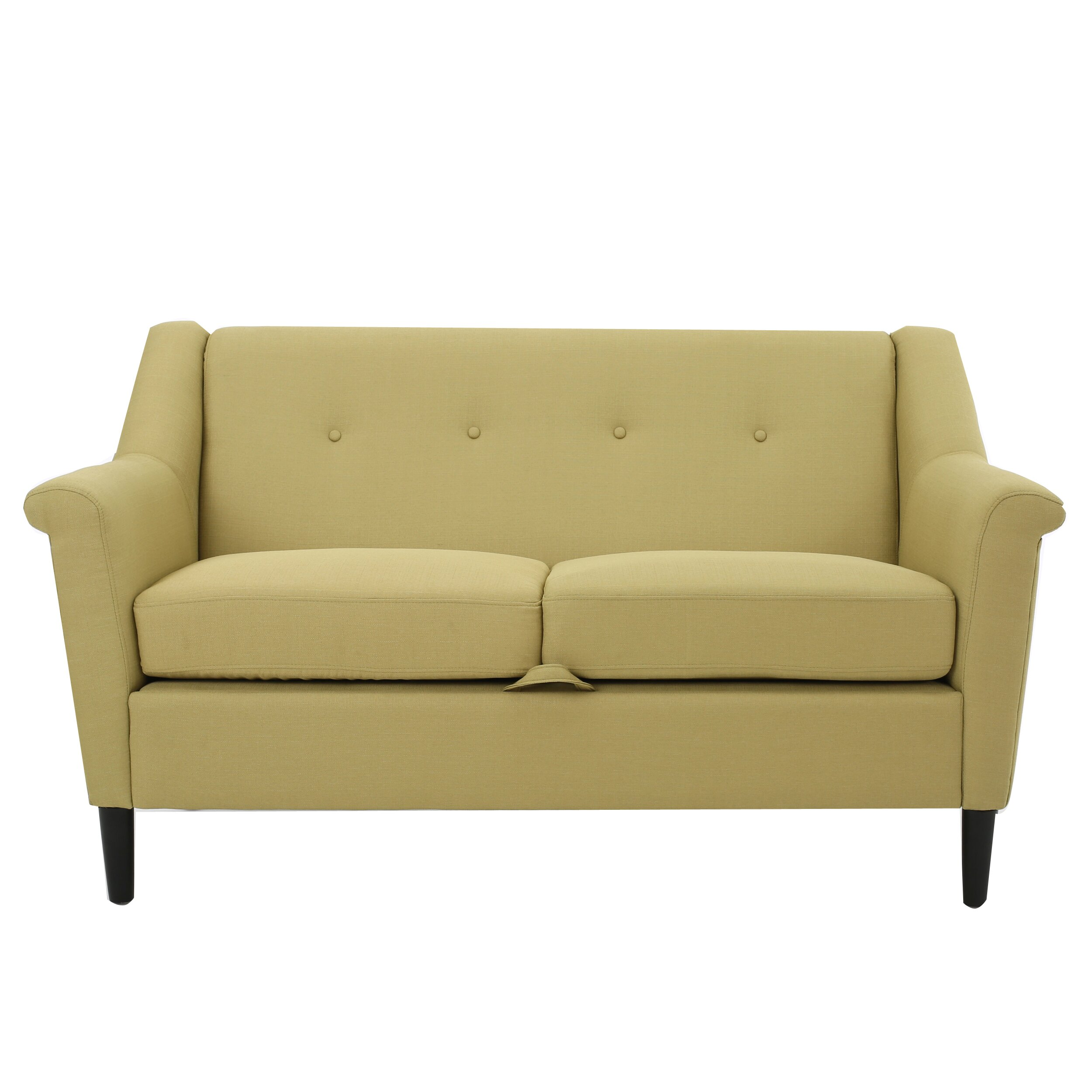 Home Loft Concepts Emily Modern Loveseat Reviews Wayfair