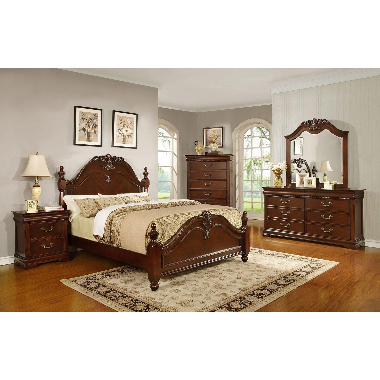 Hazelwood Home Panel Customizable Bedroom Set Reviews Wayfair