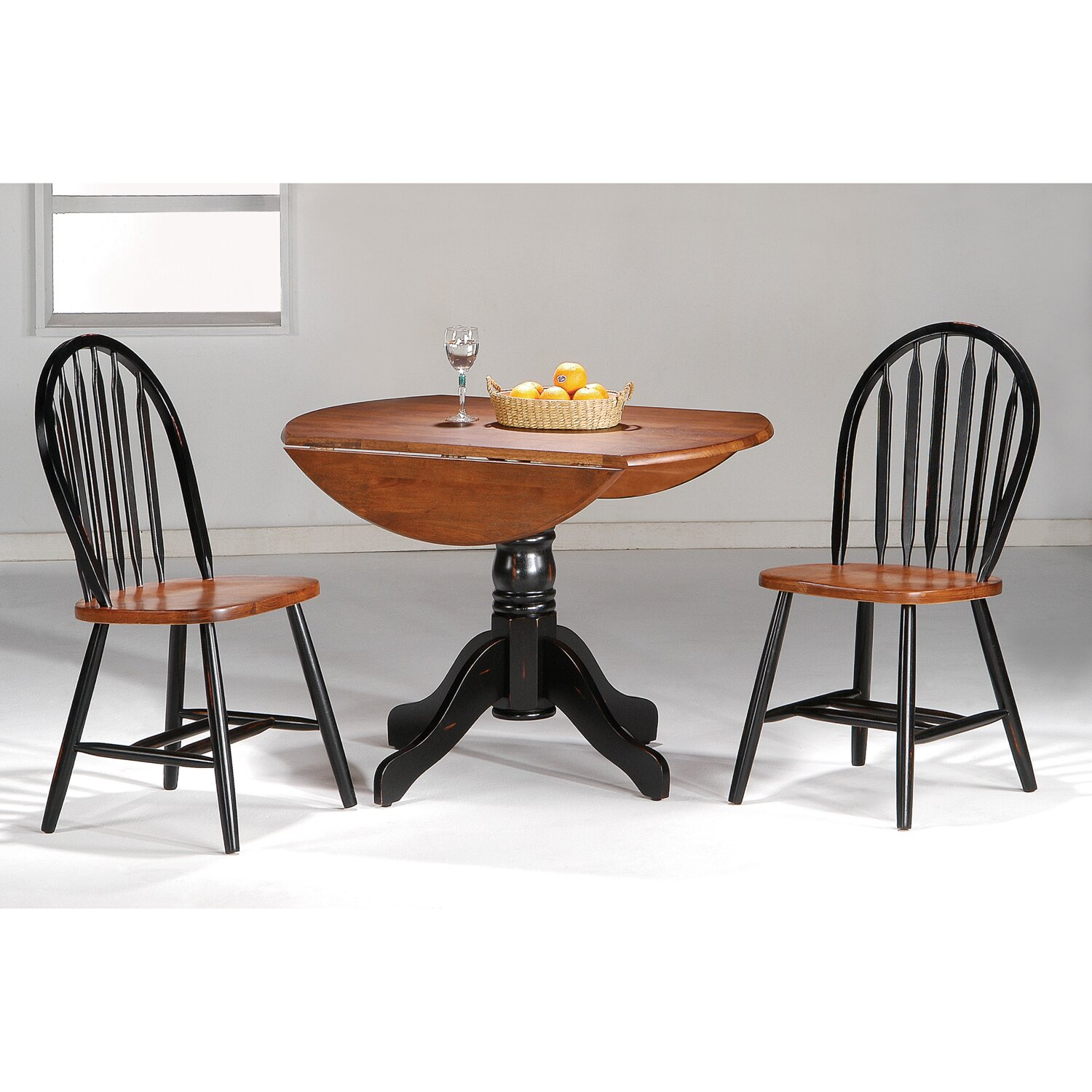Hazelwood home 3 piece dining set reviews wayfair for Kitchen dining sets on sale