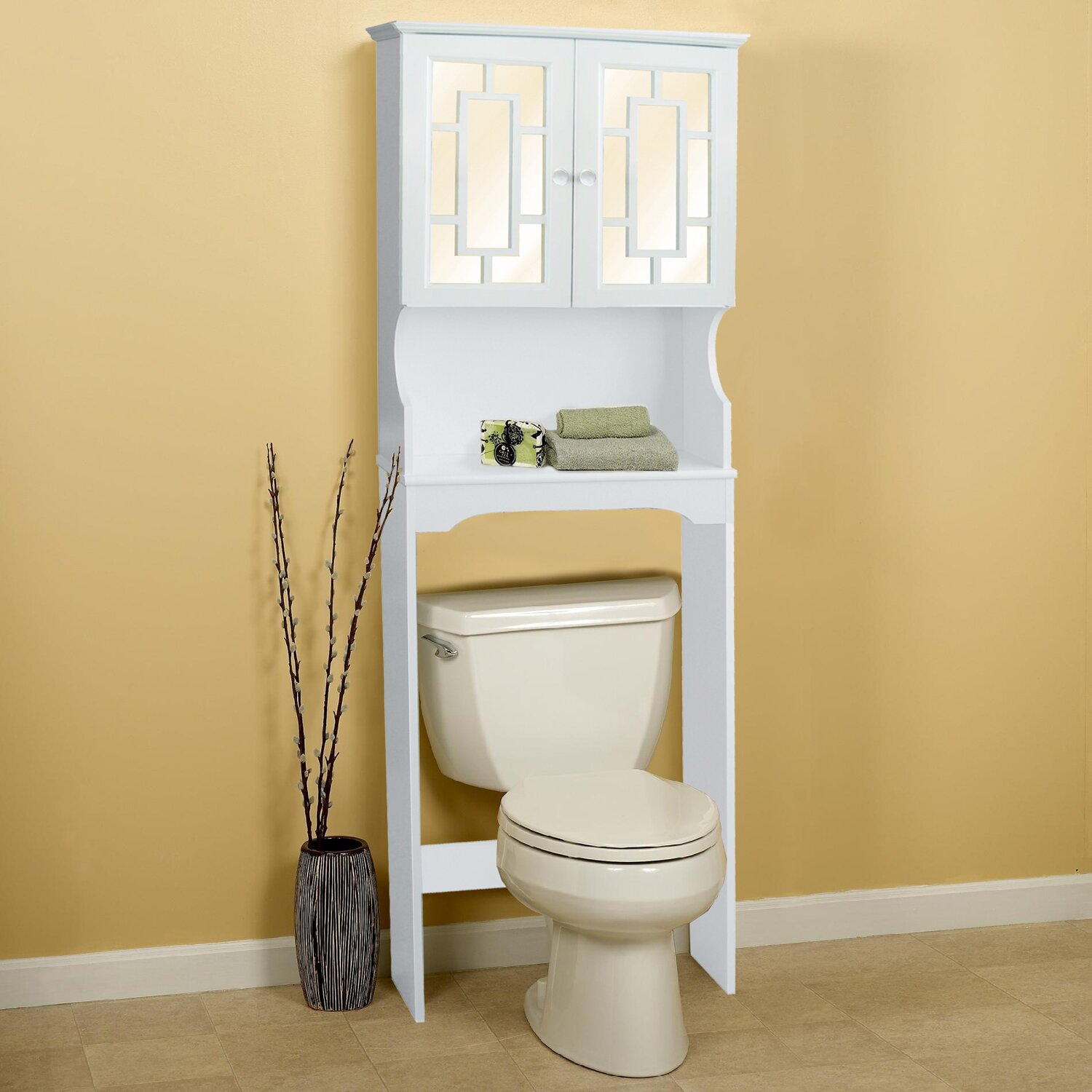 Hazelwood Home 24 X 68 Free Standing Over The Toilet