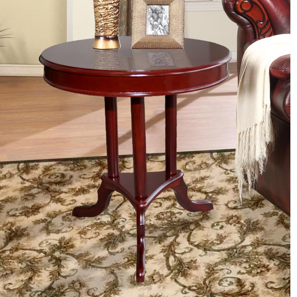 Hazelwood Home Early American End Table & Reviews