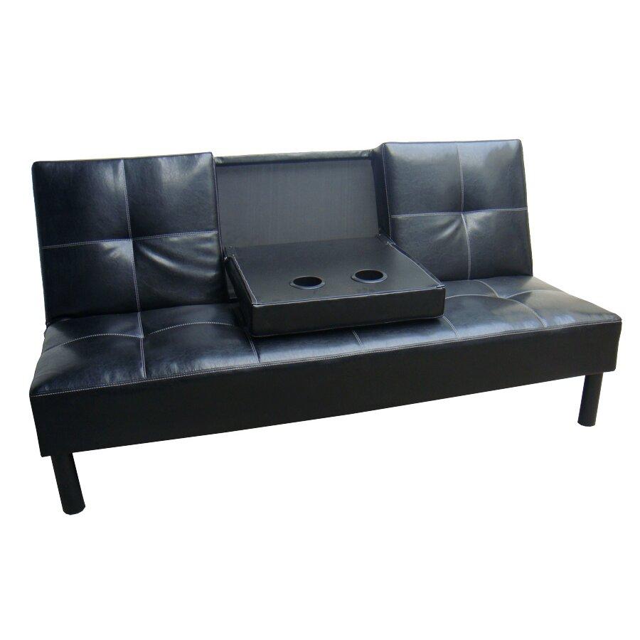 Hazelwood Home Click Clack Sleeper Sofa Reviews