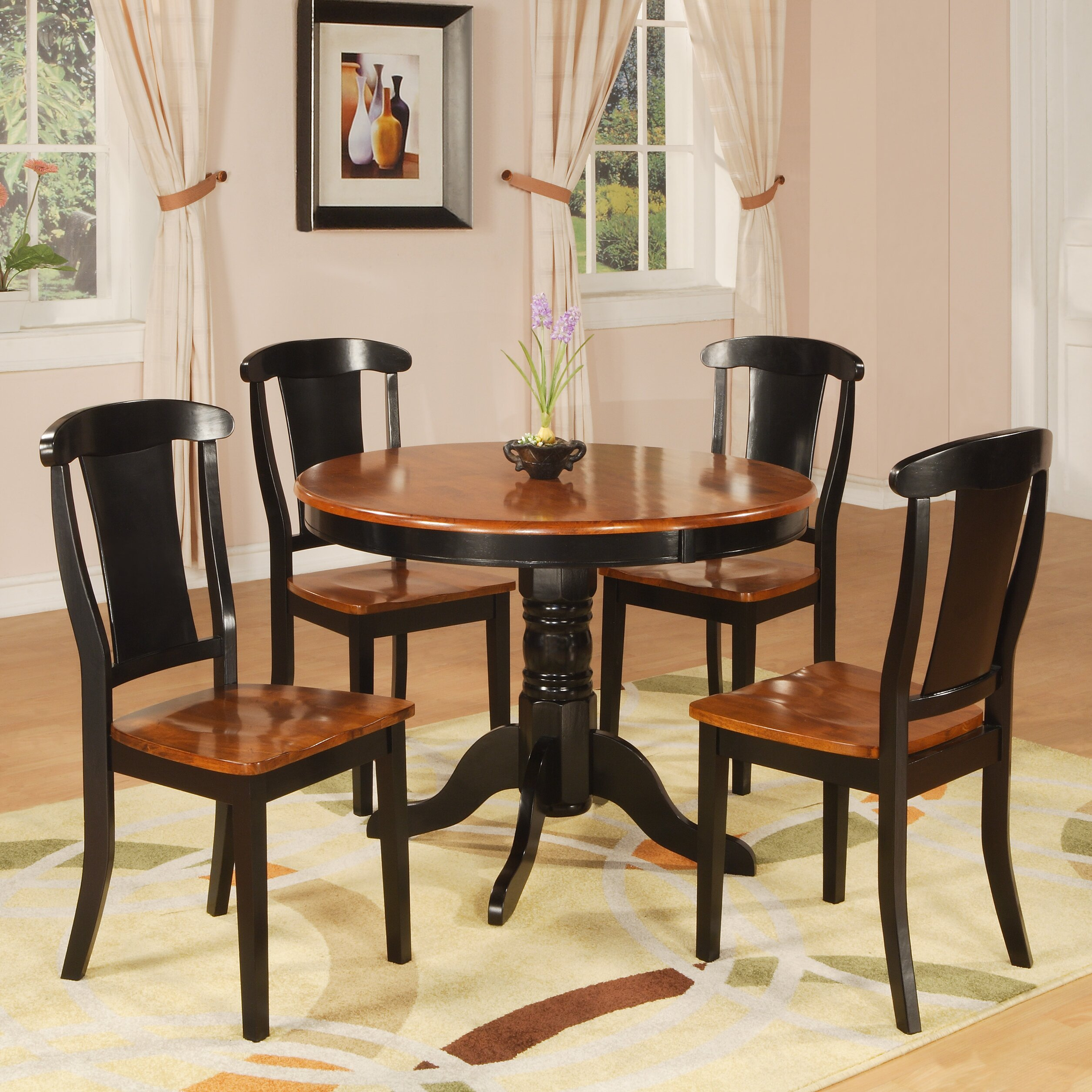Hazelwood home hazelwood home 5 piece dining set reviews for 5 piece dining set under 200