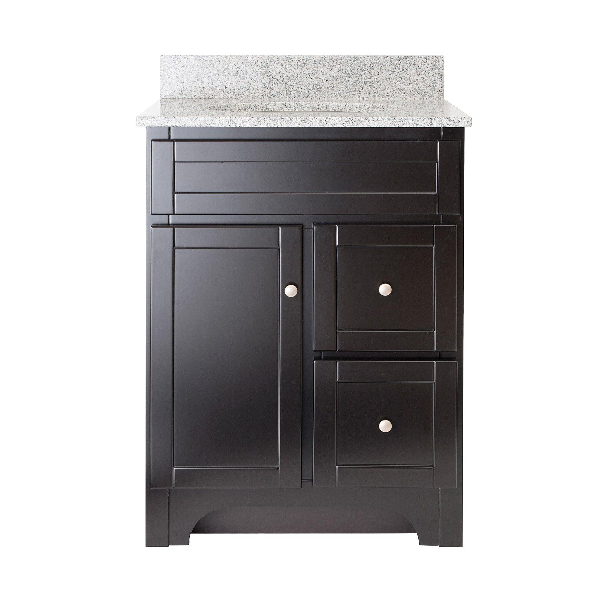 "Hazelwood Home Deanfield 25"" Single Bathroom Vanity Set"