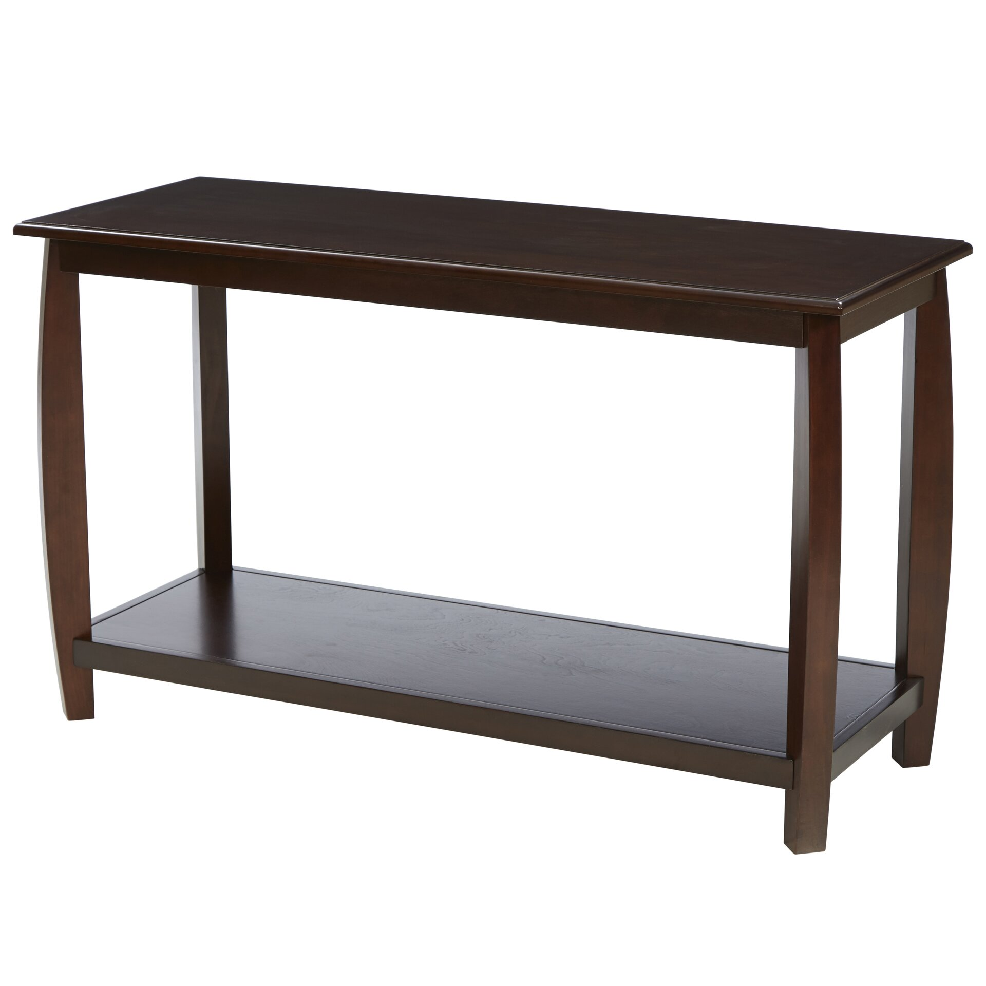 andover mills oakcrest console table reviews. Black Bedroom Furniture Sets. Home Design Ideas