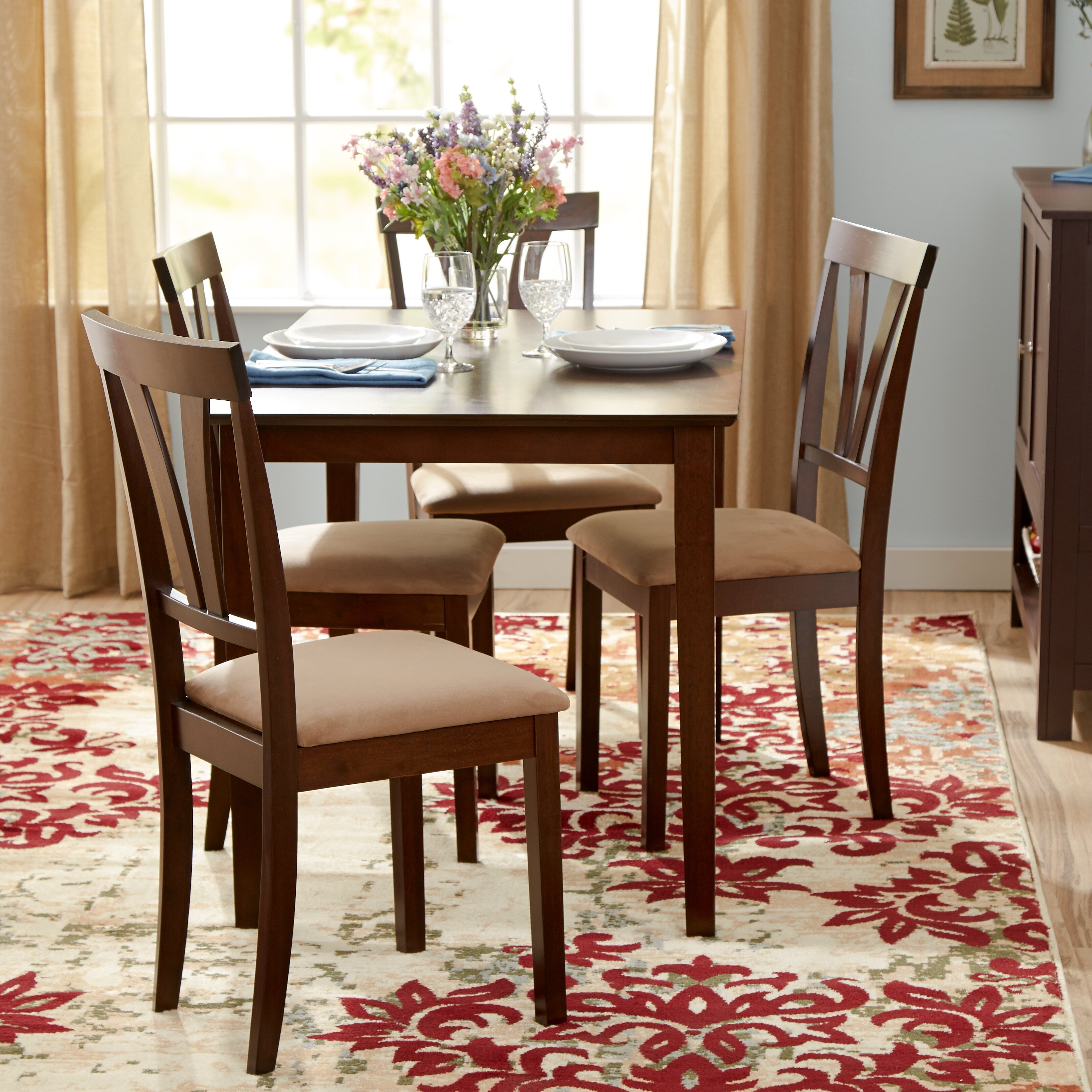Dining Room Sets: Andover Mills Donald 5 Piece Dining Set & Reviews