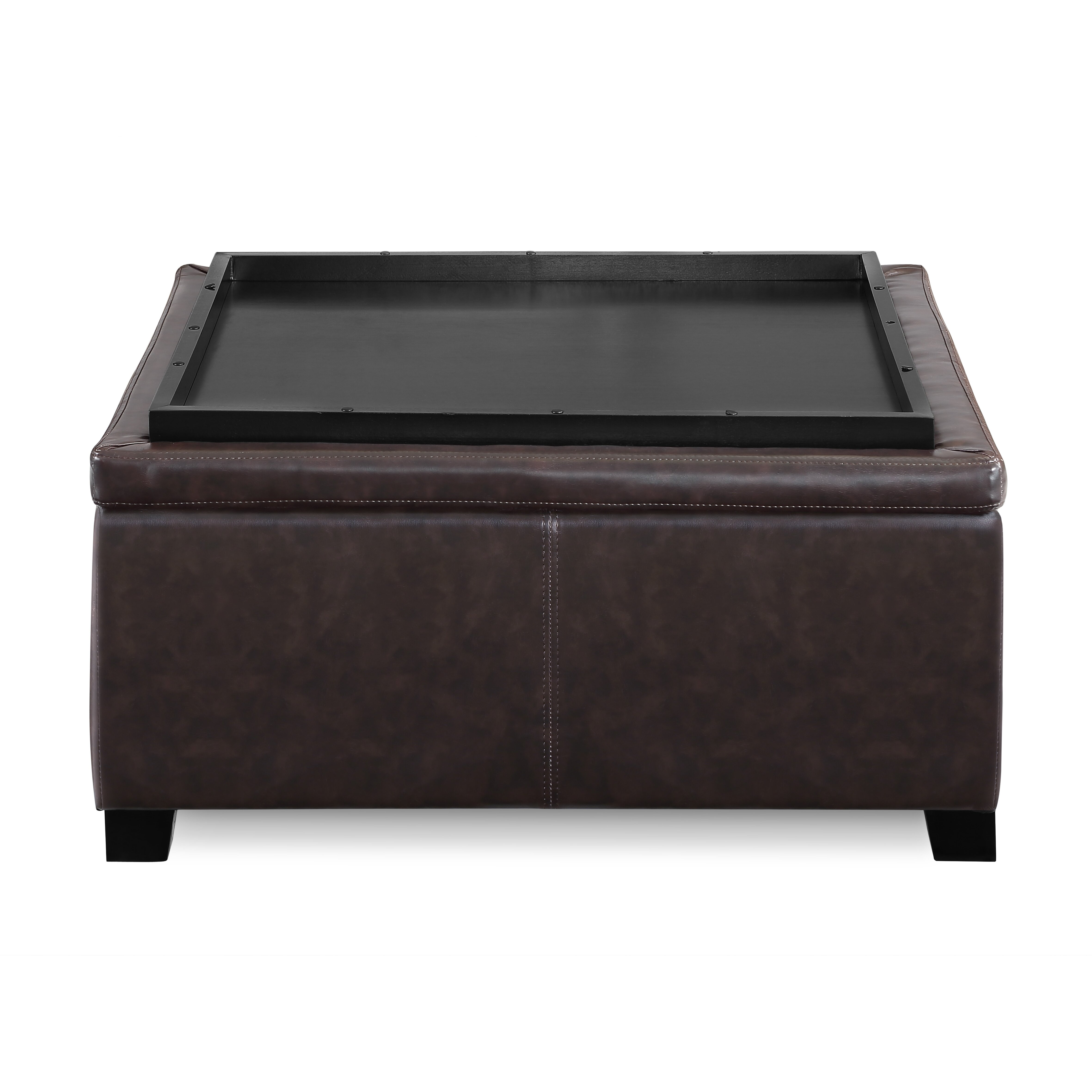 Andover Mills Elwood Square Storage Ottoman Reviews