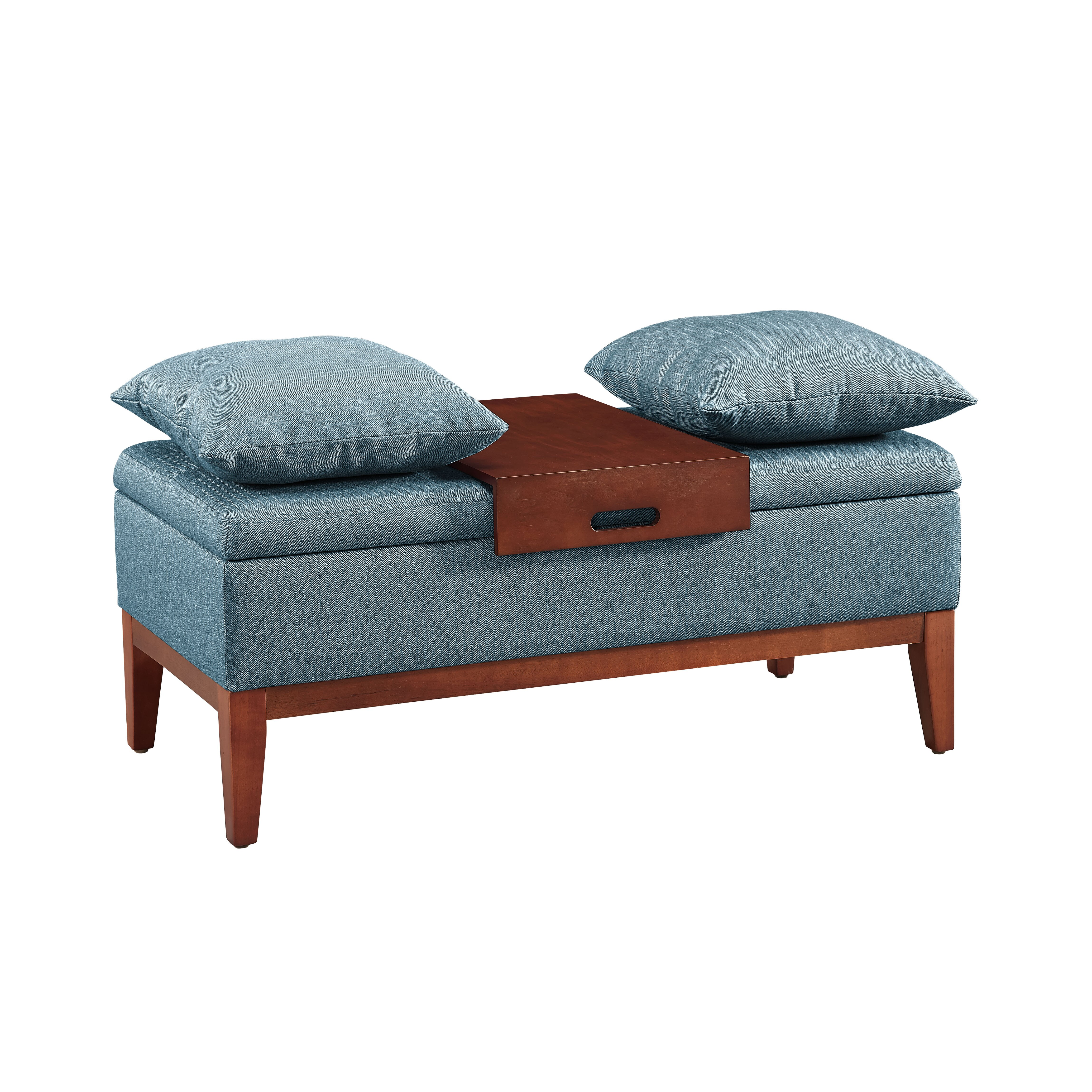 Andover Mills Ravenwood Upholstered Storage Bench: Andover Mills Upholstered Storage Bench & Reviews