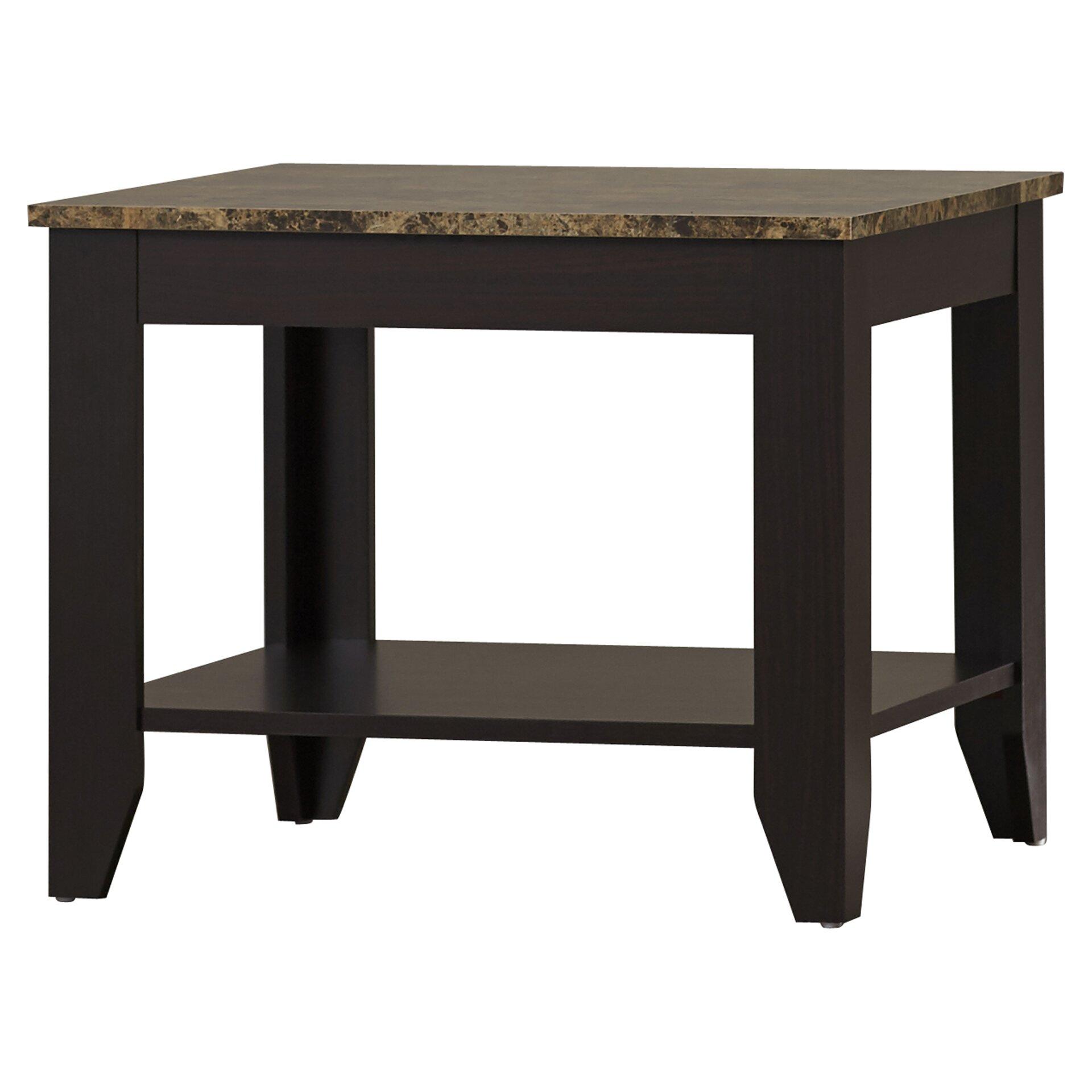 Andover Mills Josefa 3 Piece Coffee Table Set Reviews