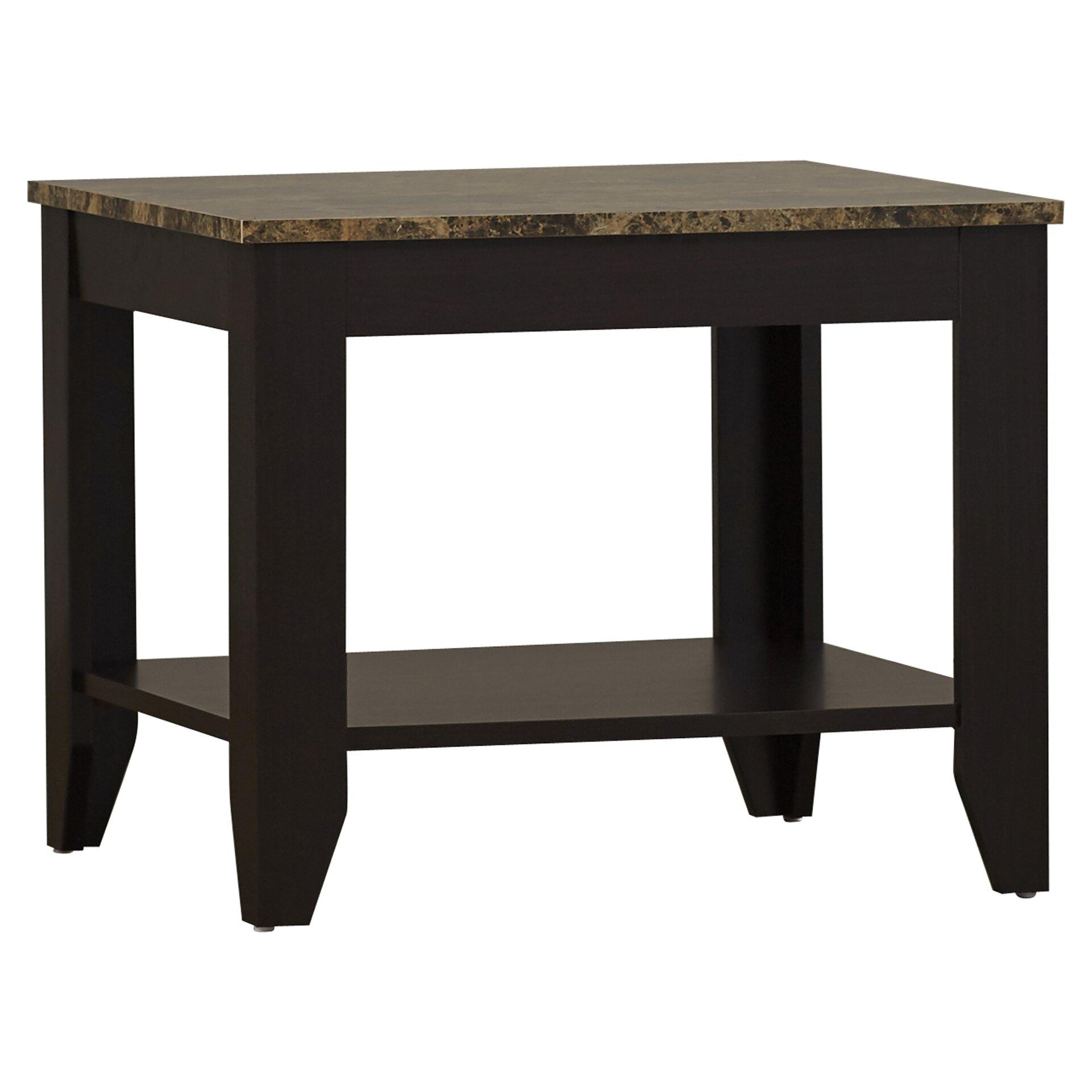 Andover Mills Josefa 3 Piece Coffee Table Set Reviews Wayfair