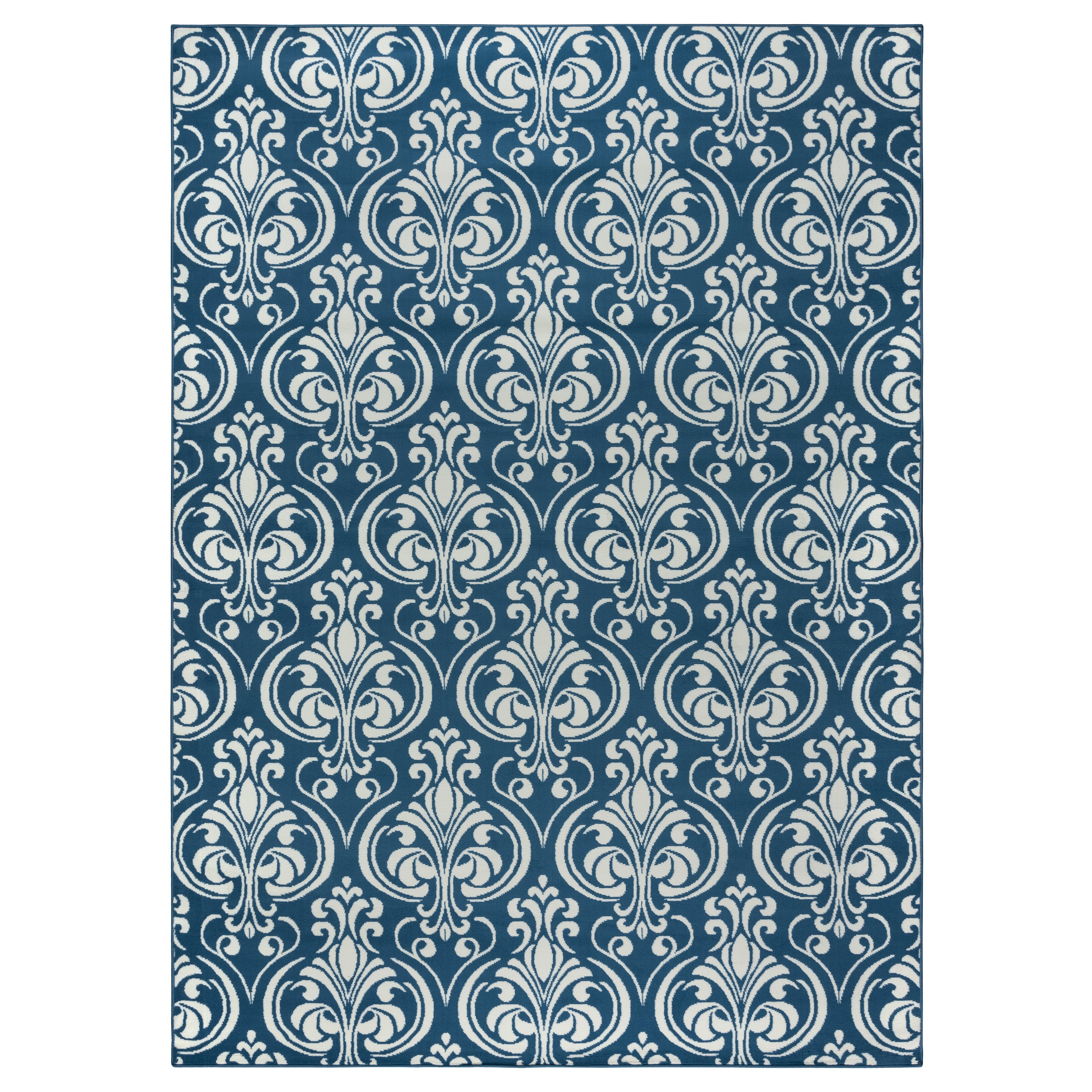 Andover mills pearl blue indoor outdoor area rug reviews for Blue indoor outdoor rug