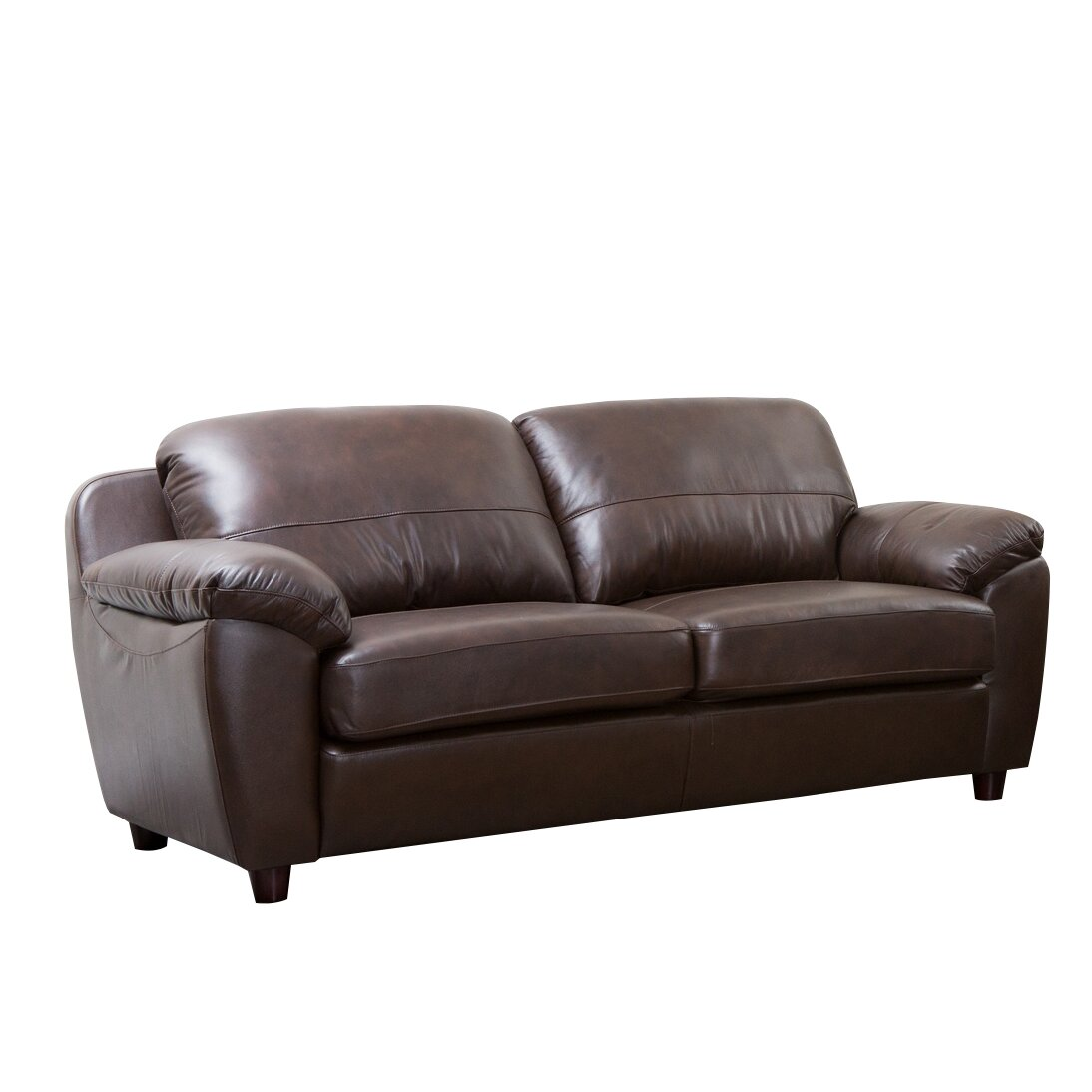 Andover Mills Ashley Leather Loveseat Reviews Wayfair