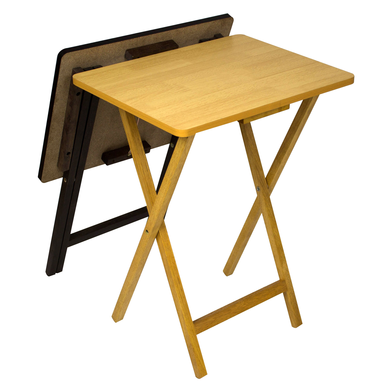 Andover Mills Ivana Folding Tv Tray Table Set Reviews