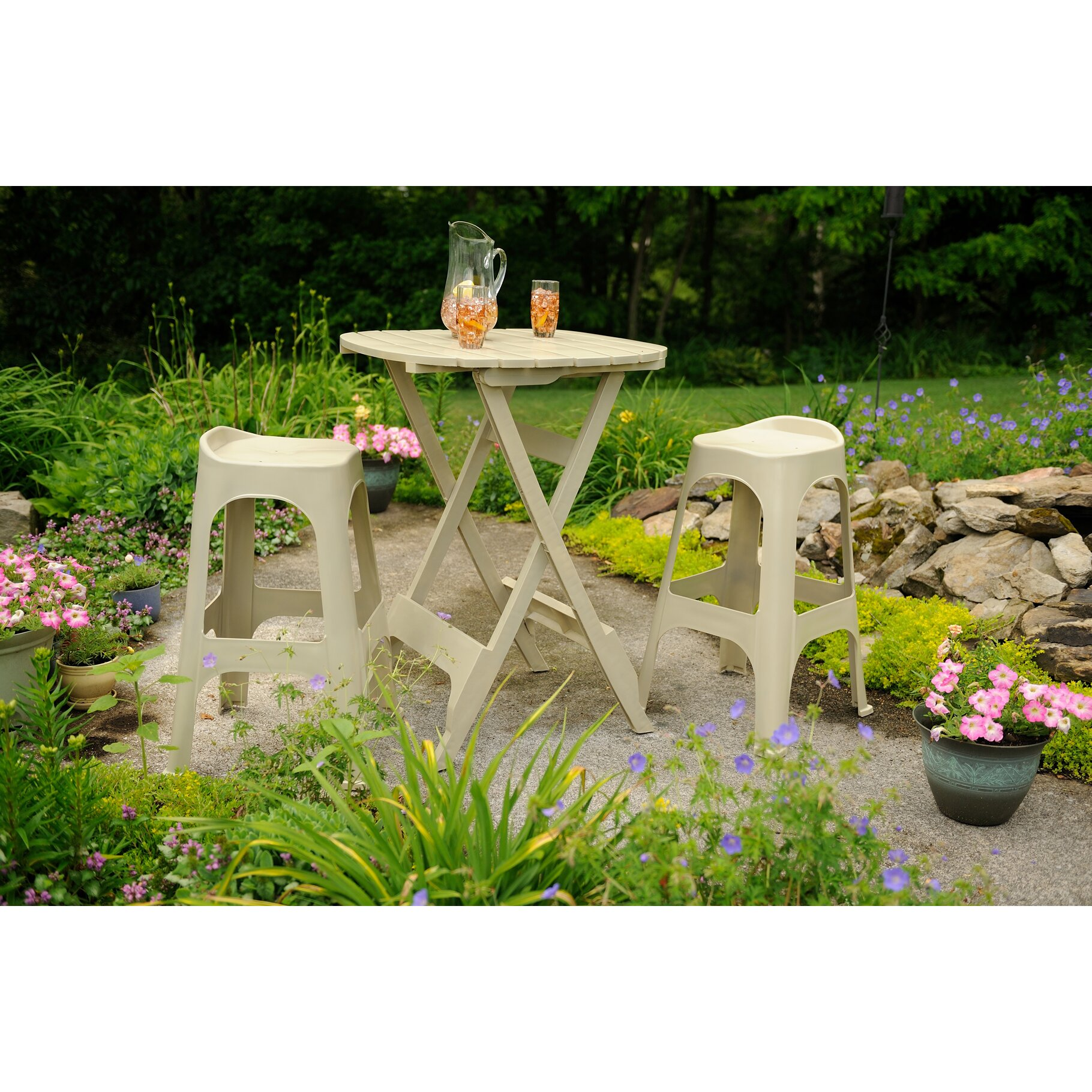Andover mills quebec bistro table reviews wayfair for Outdoor furniture quebec