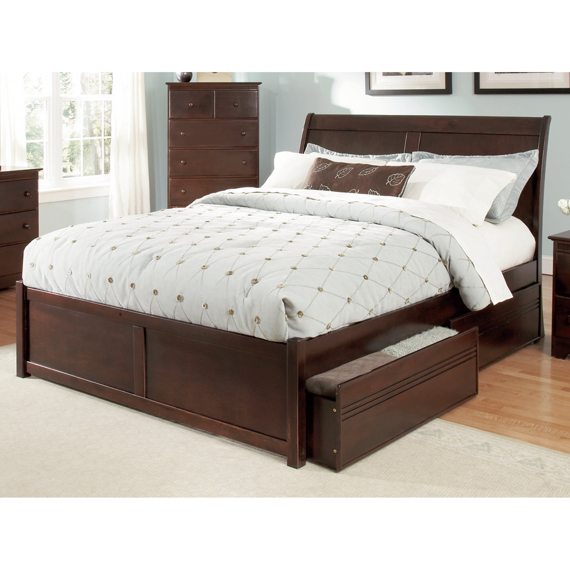 Andover Mills Winstead Storage Platform Bed & Reviews